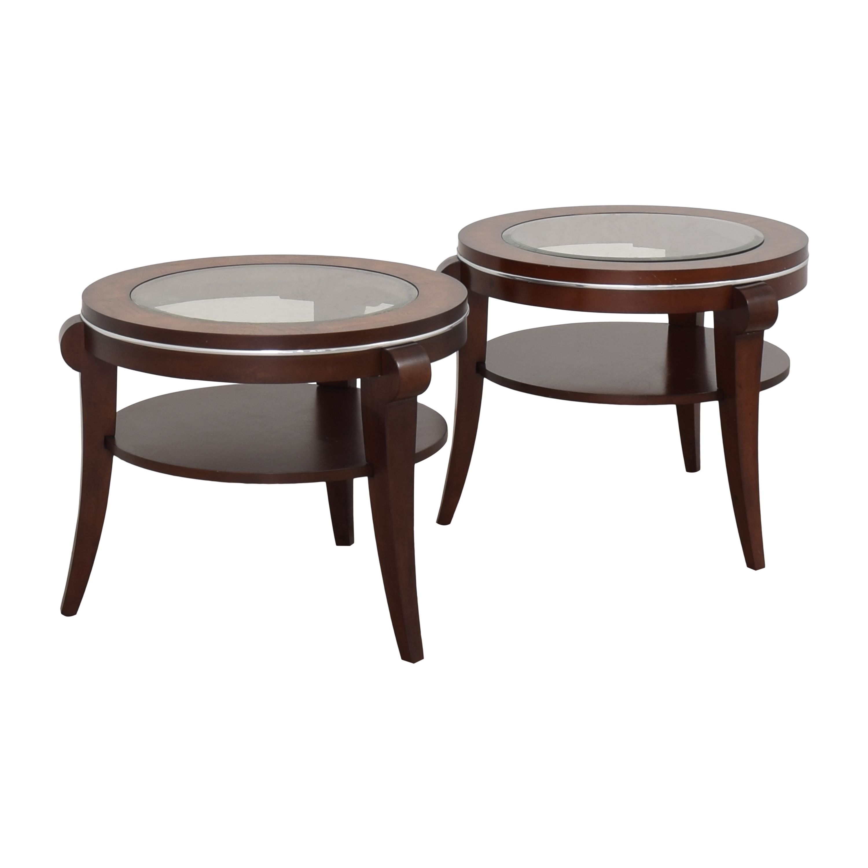Raymour & Flanigan Raymour & Flanigan Round End Tables coupon