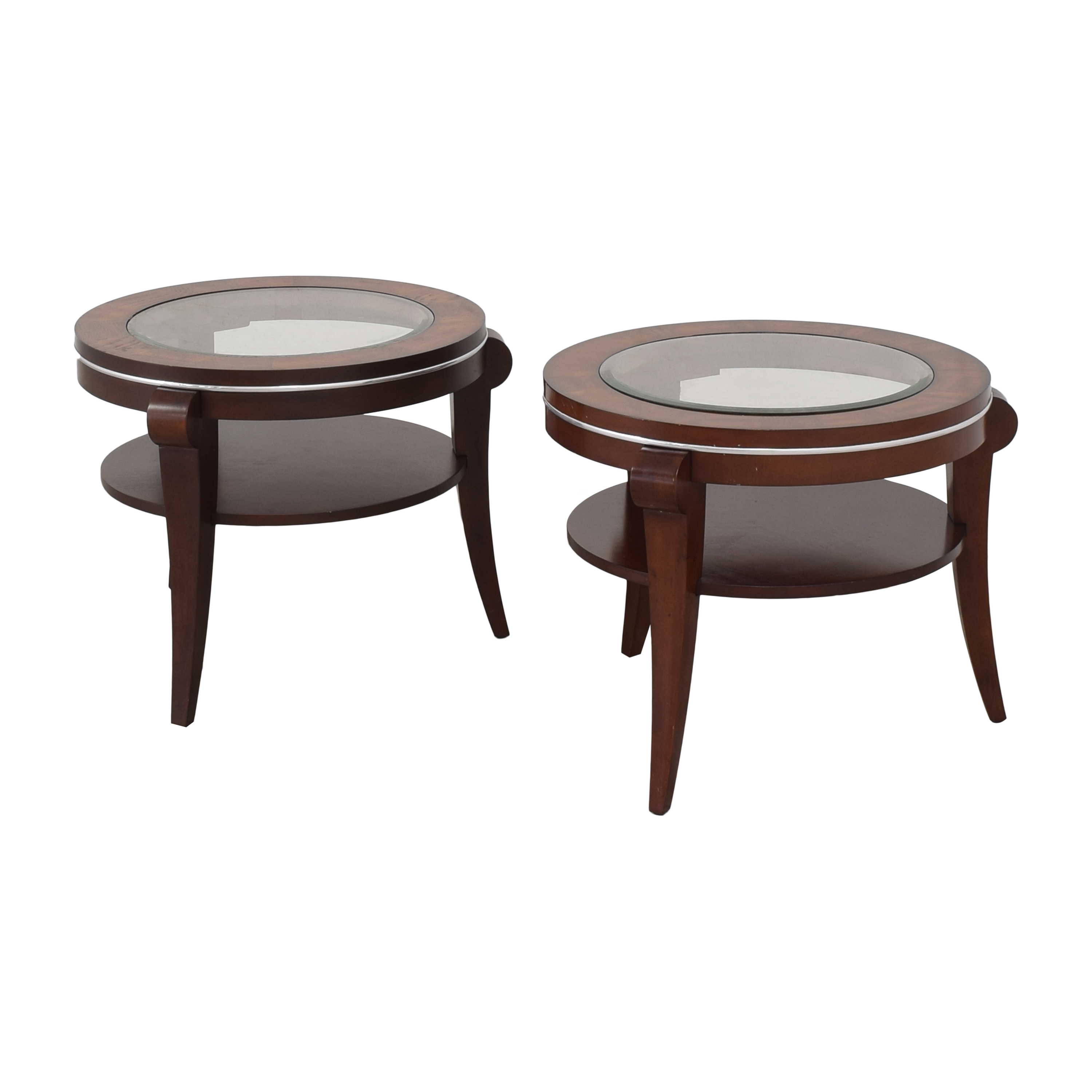 shop Raymour & Flanigan Round End Tables Raymour & Flanigan End Tables