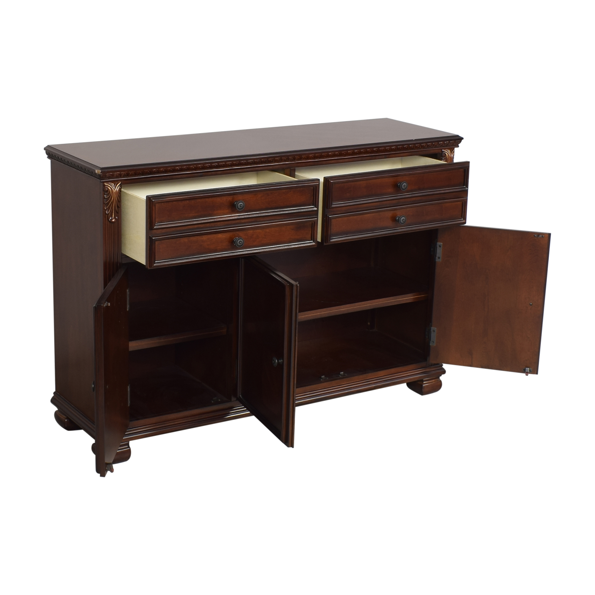 shop Ashley Furniture Leahlyn Buffet Ashley Furniture Cabinets & Sideboards