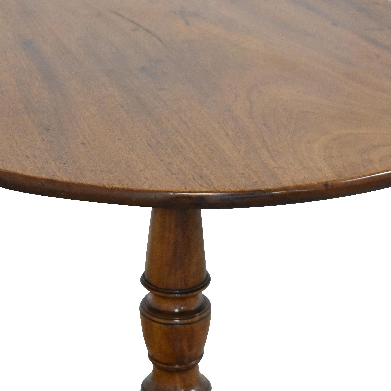Antique Pedestal Side Table for sale
