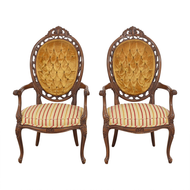 Custom Tufted Armchairs price