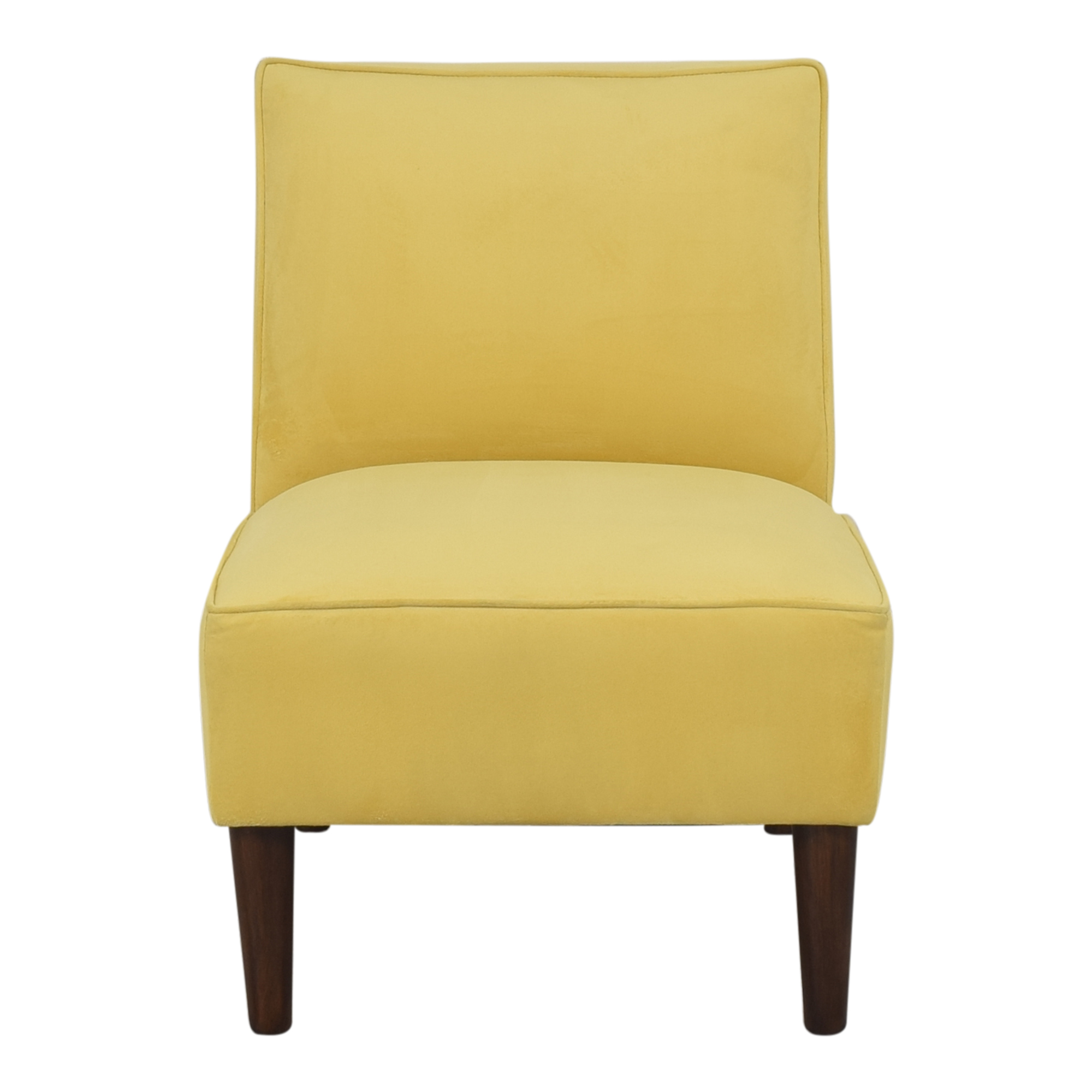 The Inside The Inside Slipper Chair yellow