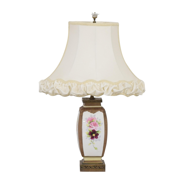 Vintage Floral Lamp nyc