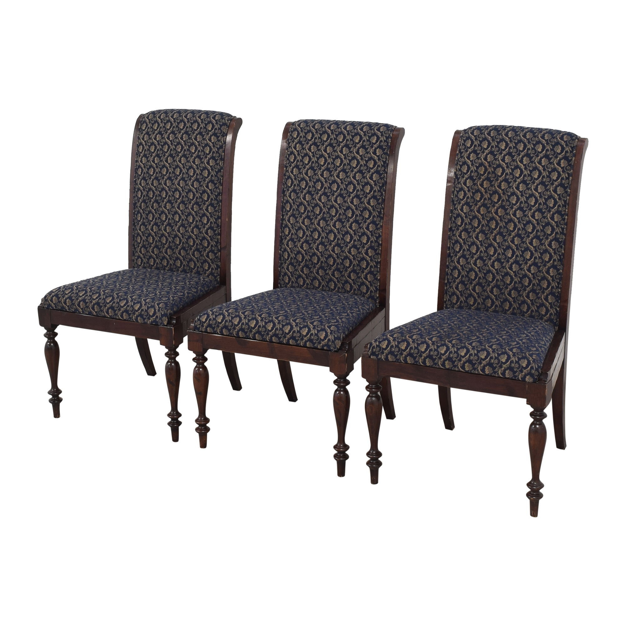 Sacchetto Fratelli Sacchetto Fratelli Upholstered High Back Dining Chairs on sale