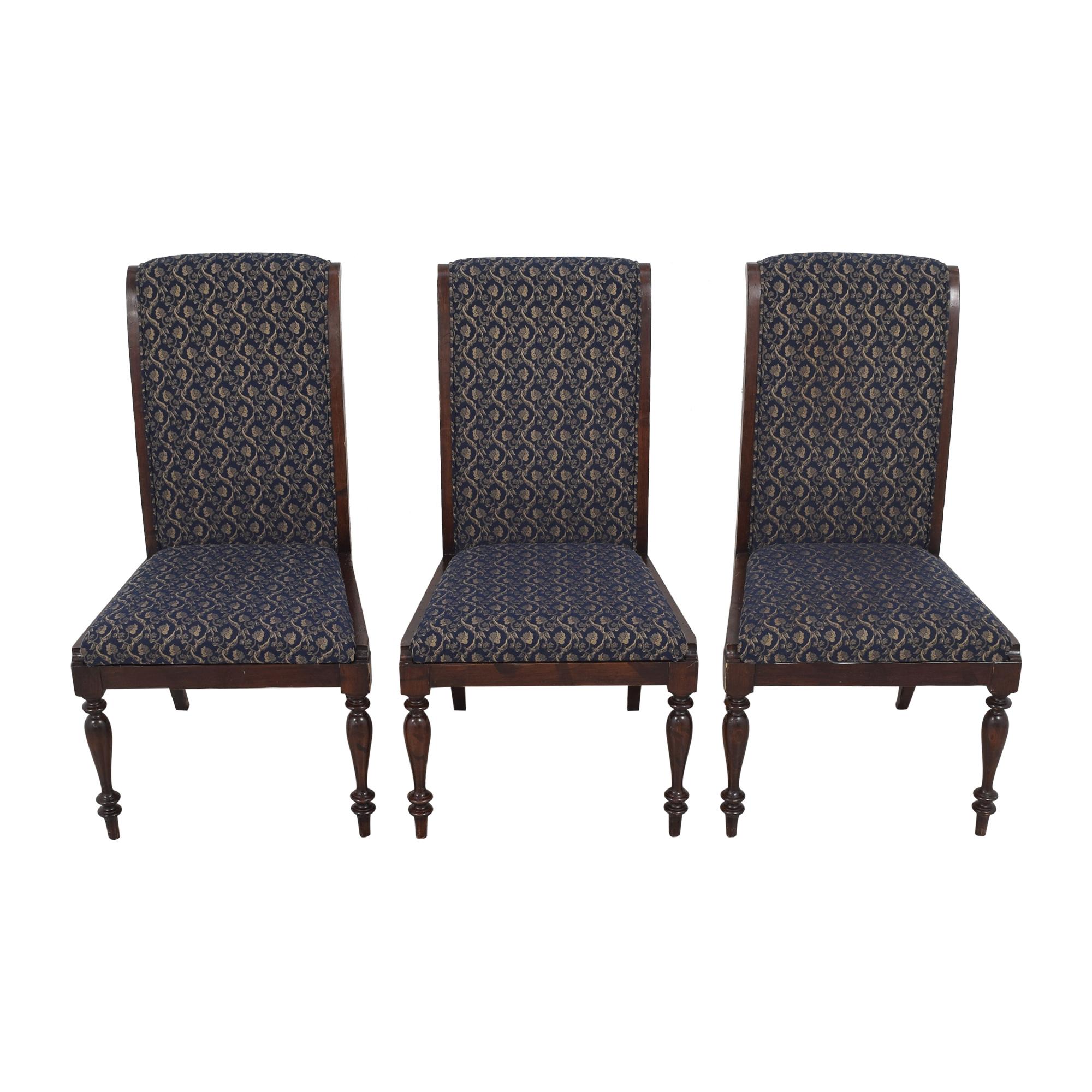 shop Sacchetto Fratelli Upholstered High Back Dining Chairs Sacchetto Fratelli Dining Chairs