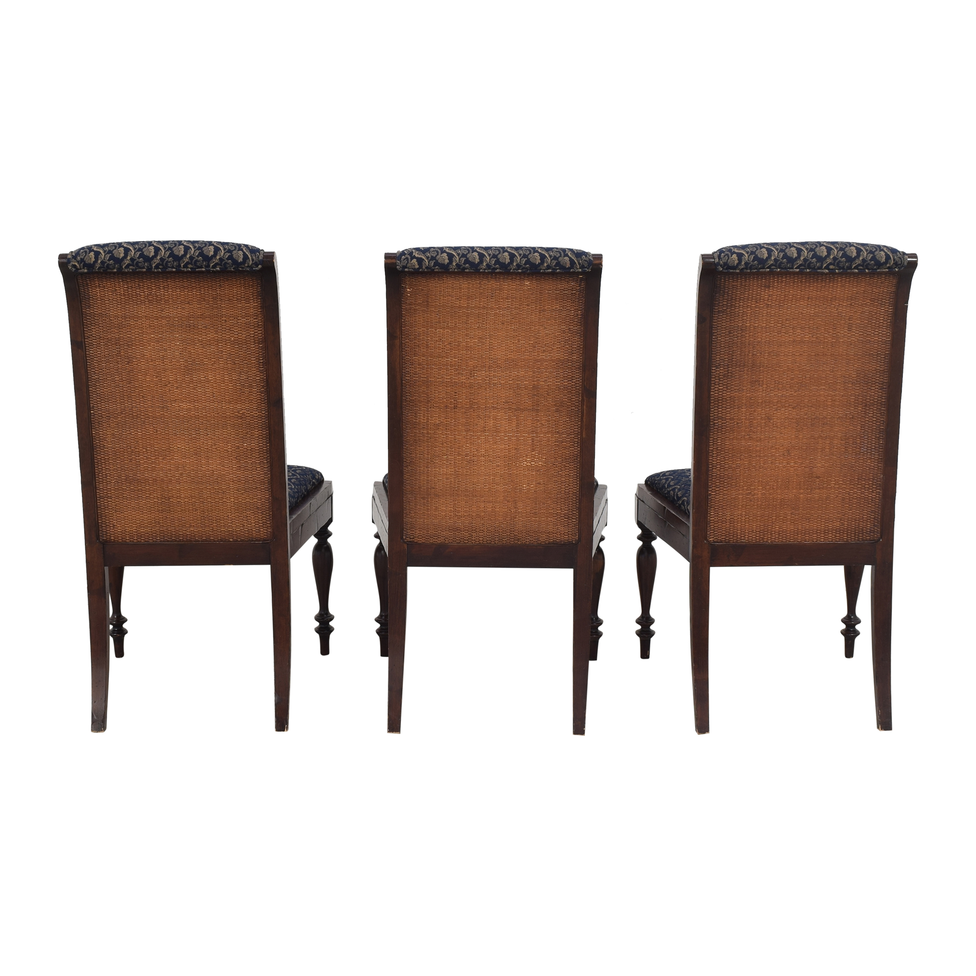 Sacchetto Fratelli Upholstered High Back Dining Chairs / Dining Chairs
