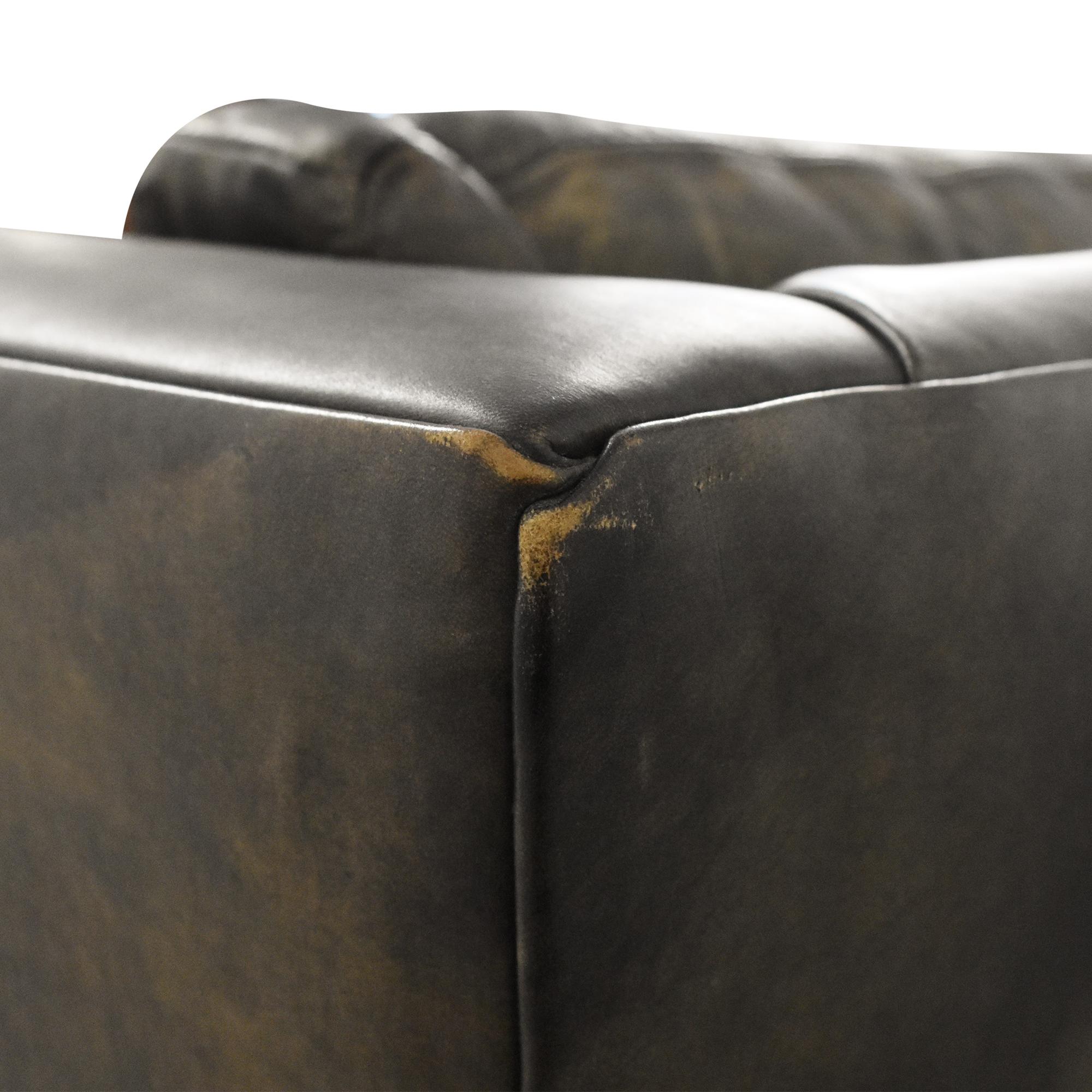 Restoration Hardware Restoration Hardware Custom Flared Arm Sofa coupon