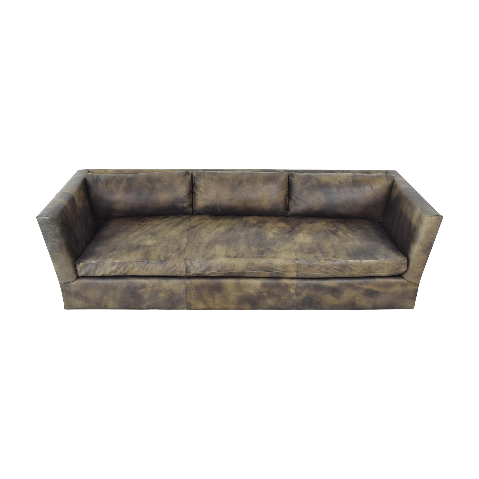 Restoration Hardware Custom Flared Arm Sofa / Classic Sofas