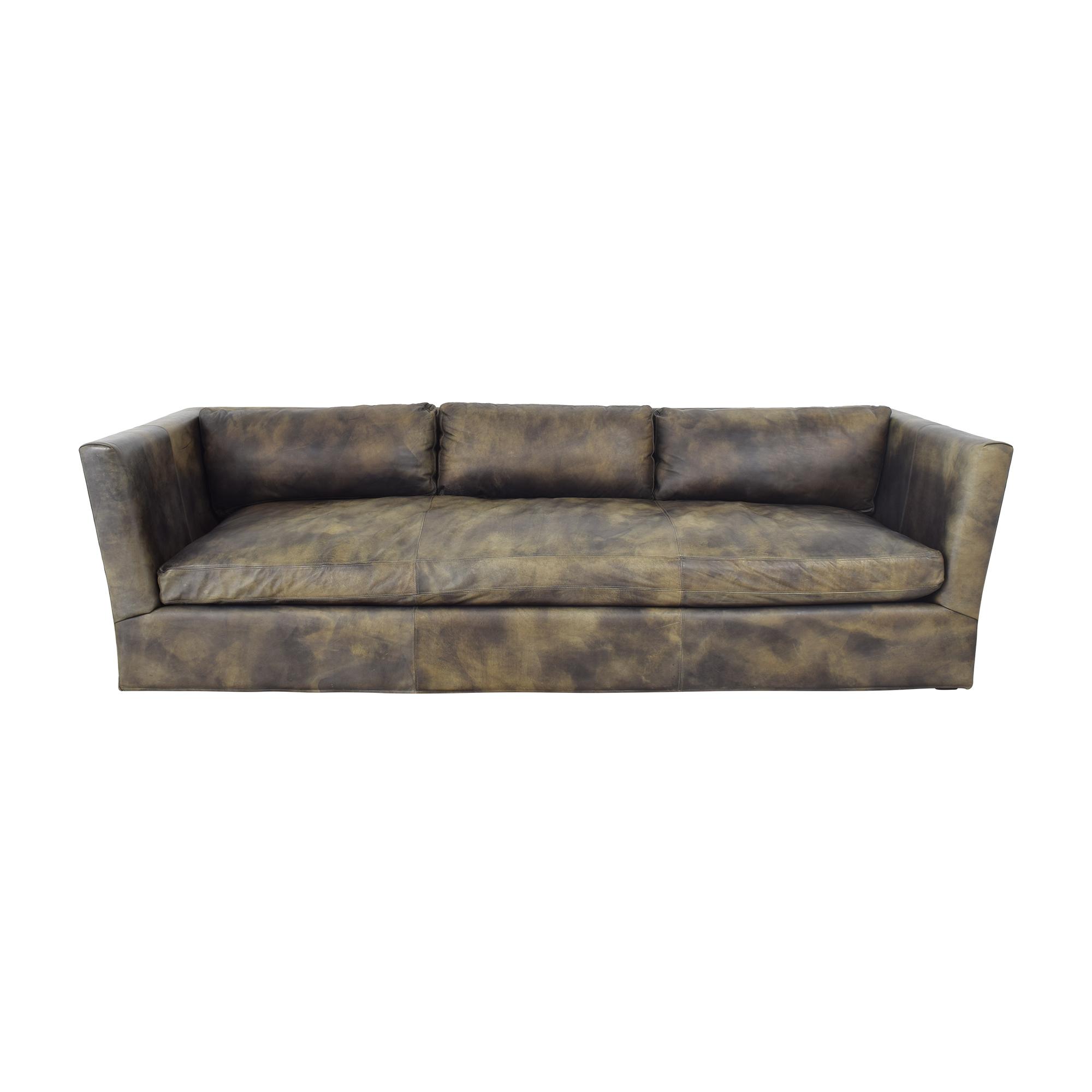 Restoration Hardware Restoration Hardware Custom Flared Arm Sofa price
