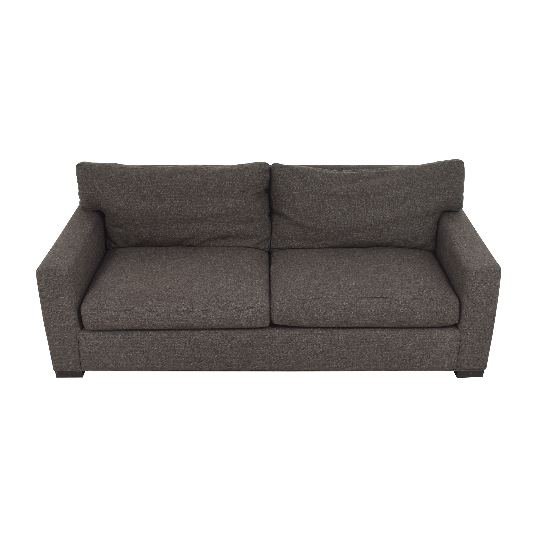 Crate & Barrel Axis Two Cushion Sofa sale