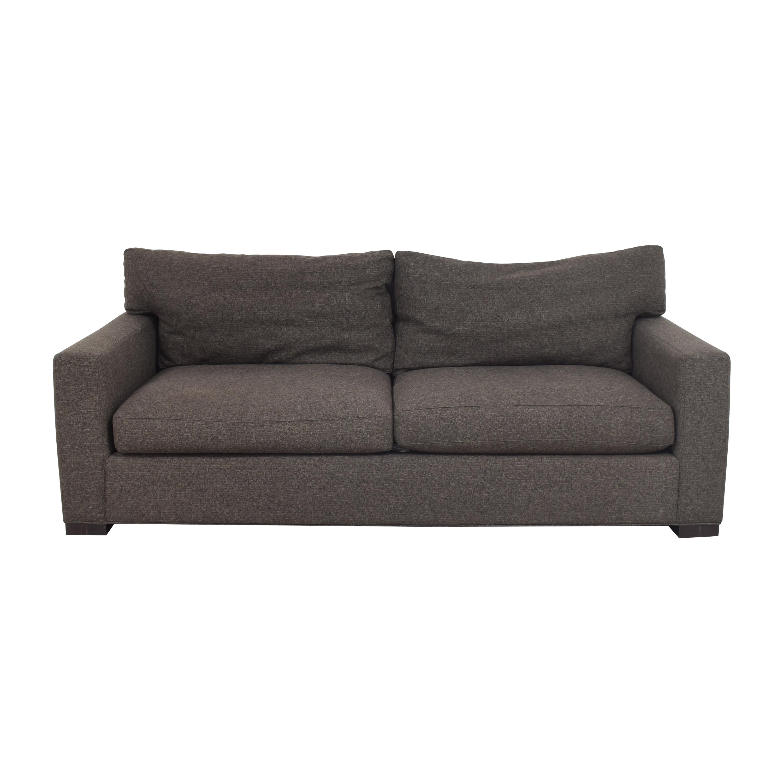 buy Crate & Barrel Axis Two Cushion Sofa Crate & Barrel