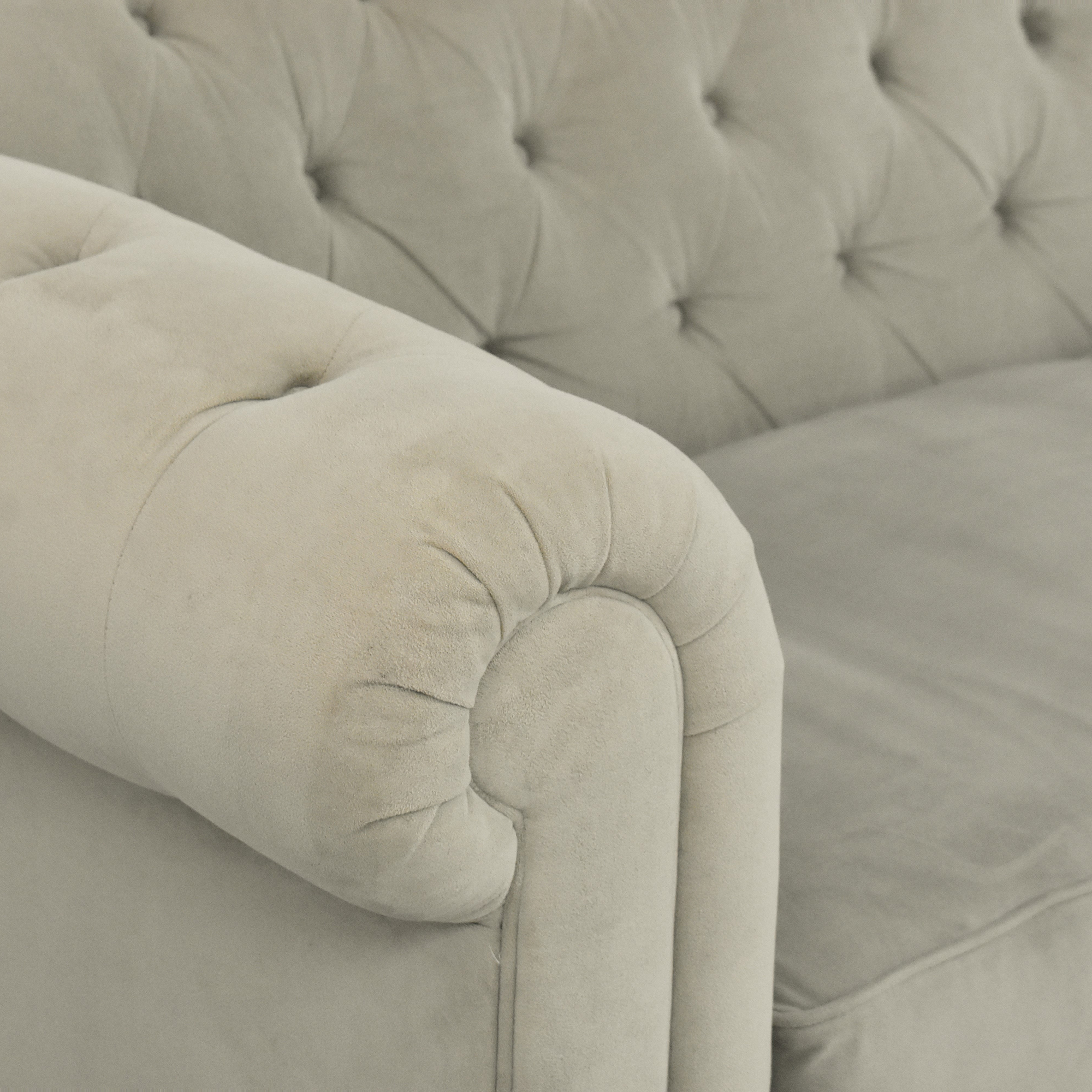 Macy's Martha Stewart Collection Saybridge Chesterfield Sofa / Sofas