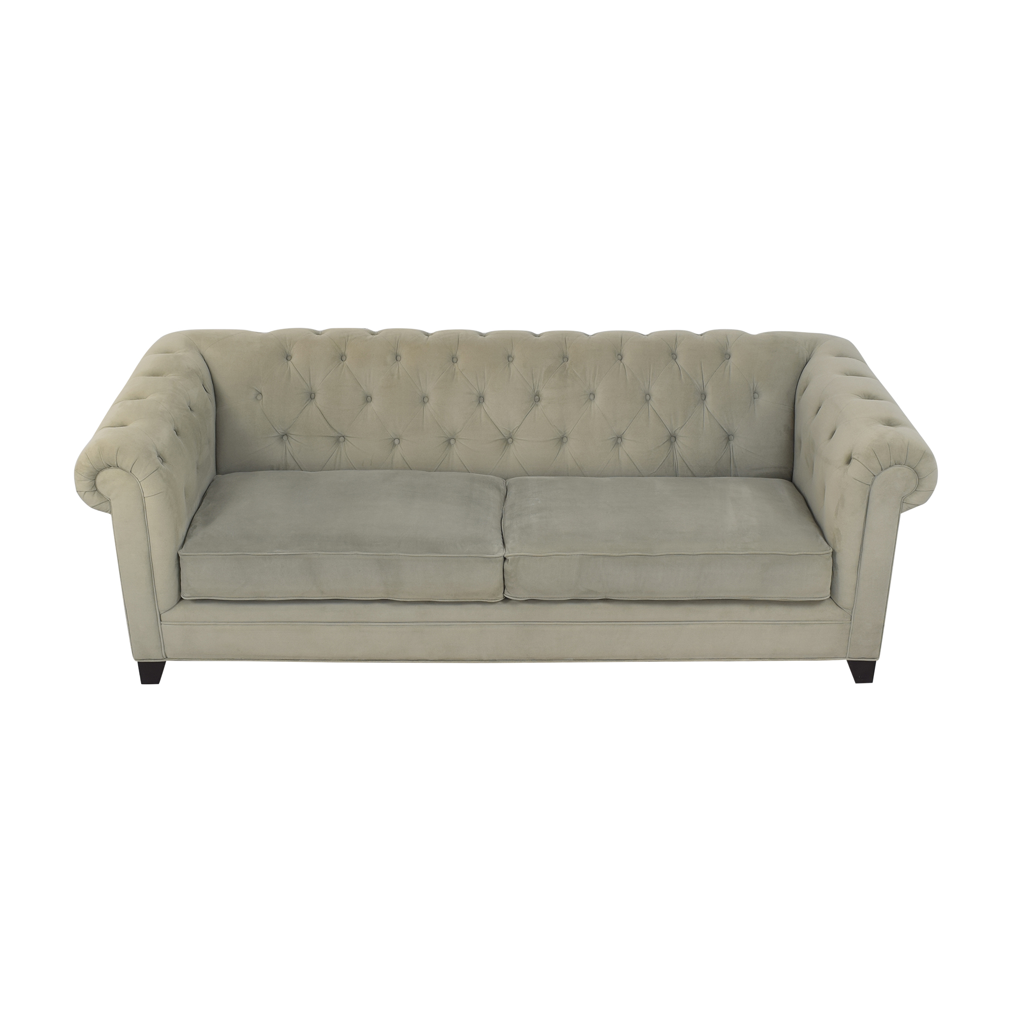 Macy's Macy's Martha Stewart Collection Saybridge Chesterfield Sofa used