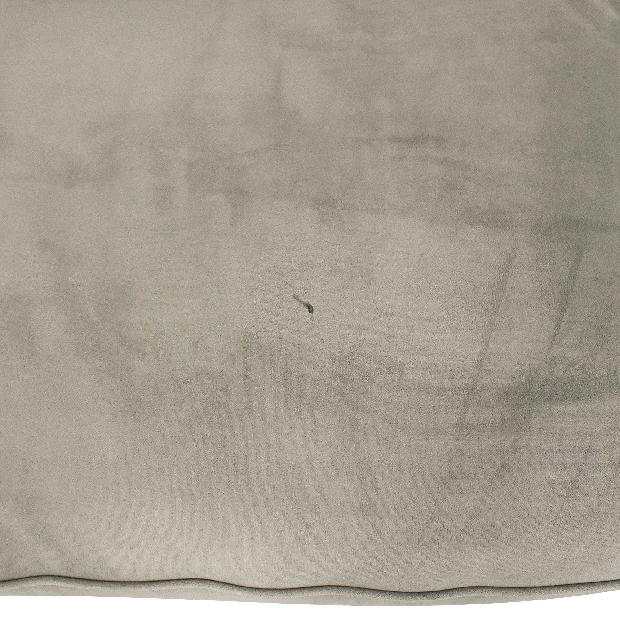 Macy's Macy's Martha Stewart Collection Saybridge Chesterfield Sofa dimensions