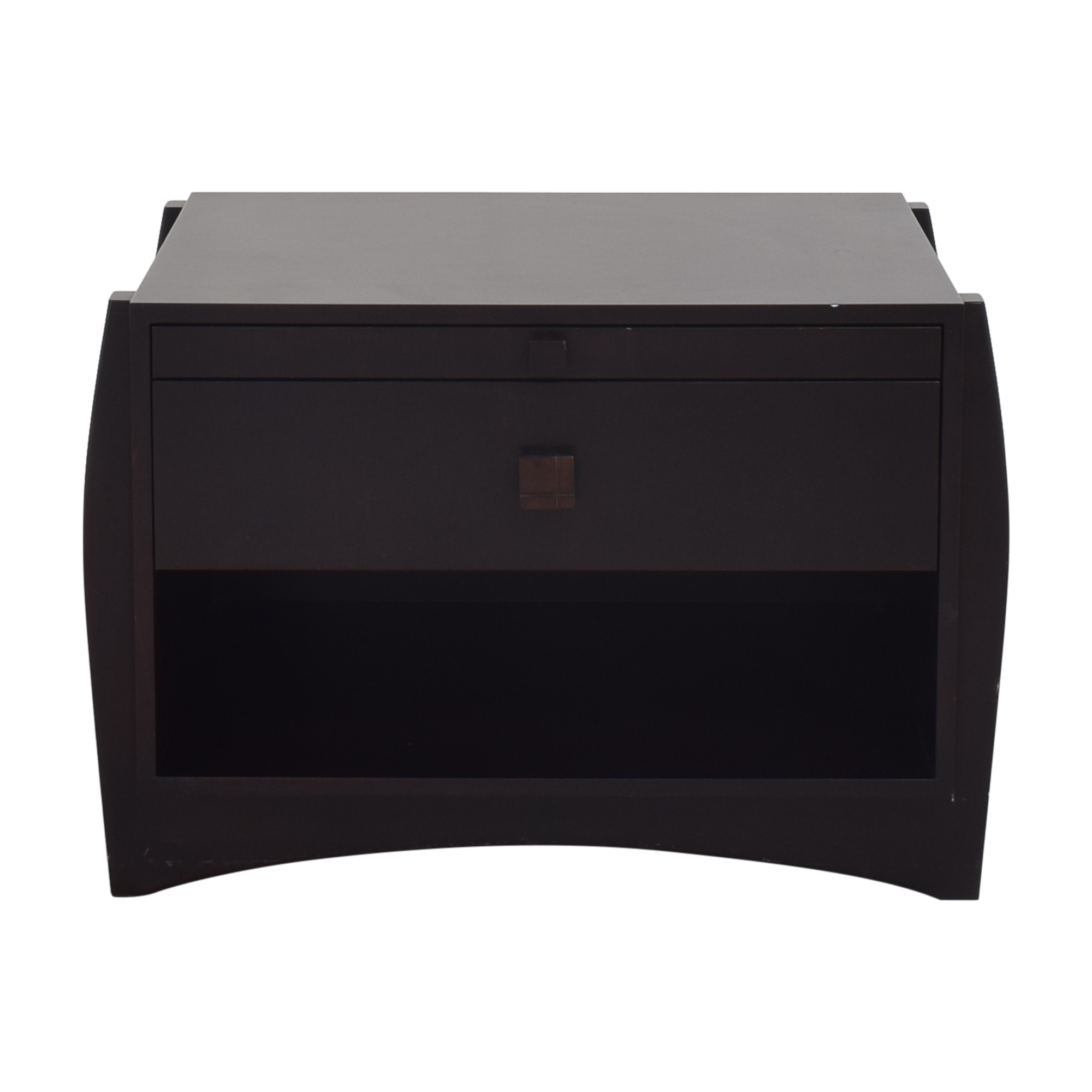 shop Single Drawer Nightstand with Desk Extension