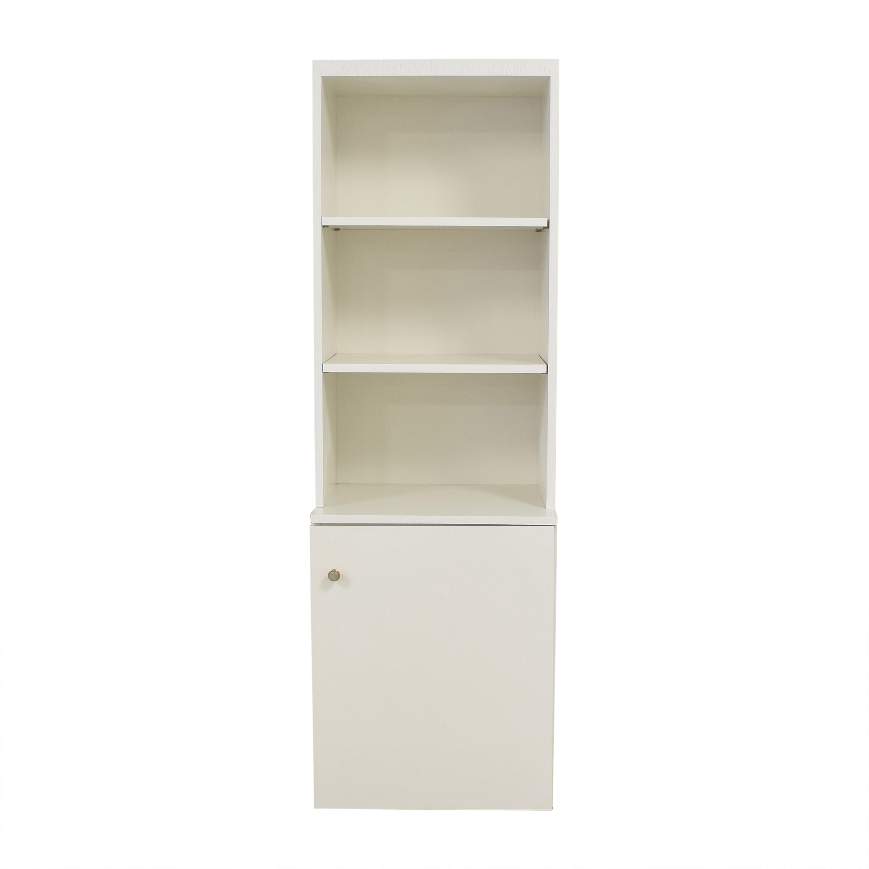 buy Custom Bookshelf with Cabinet  Bookcases & Shelving