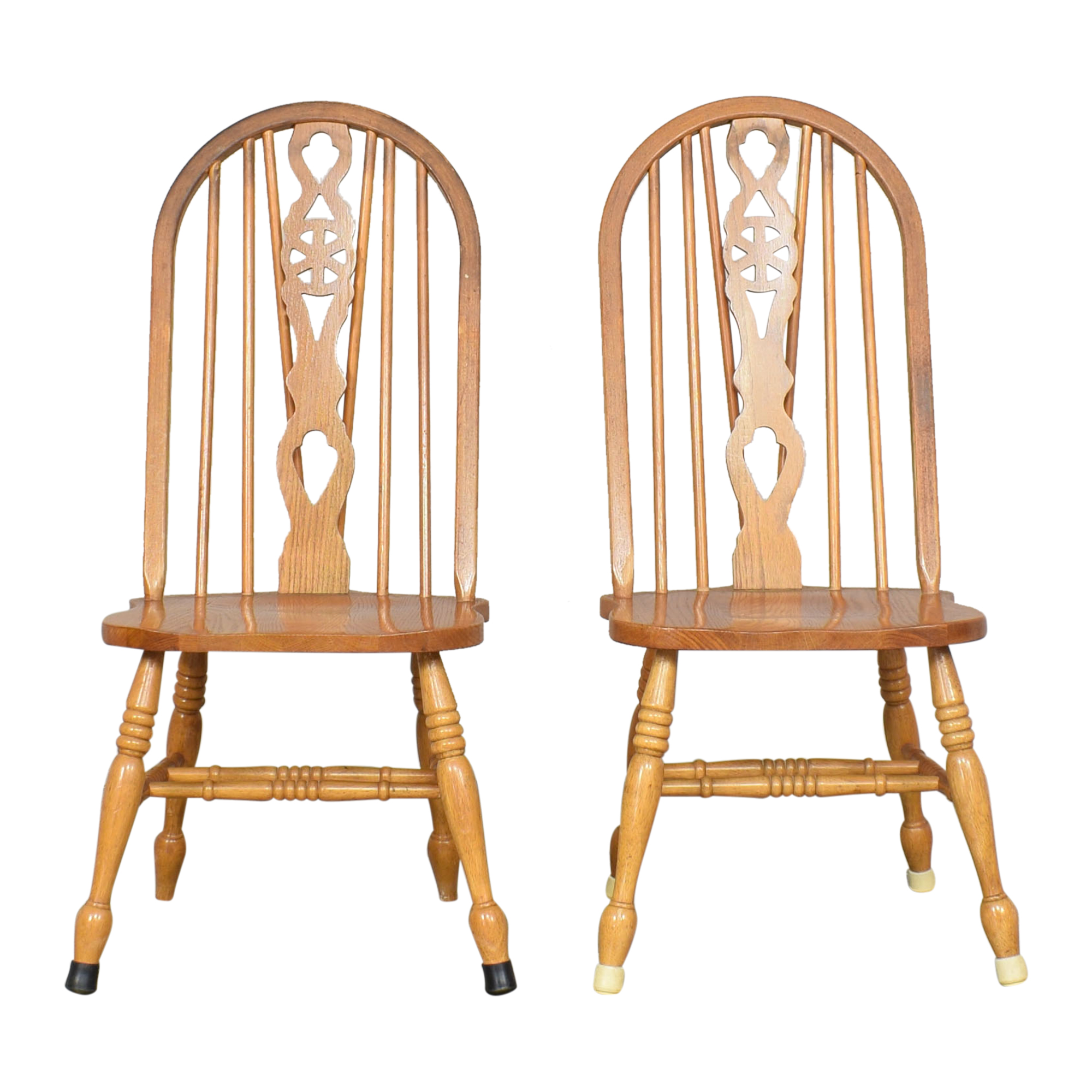 Fiddleback Windsor Dining Chairs price