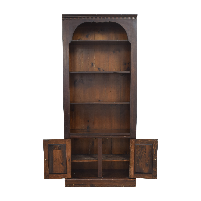Bennington Pine Bennington Pine Bookcase with Cabinet ma