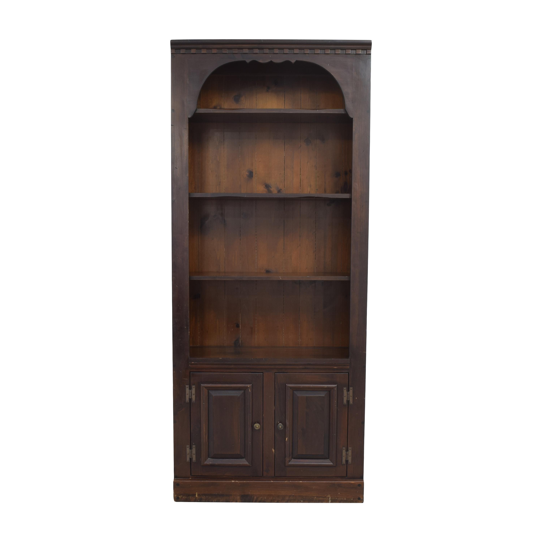 Bennington Pine Bennington Pine Bookcase with Cabinet