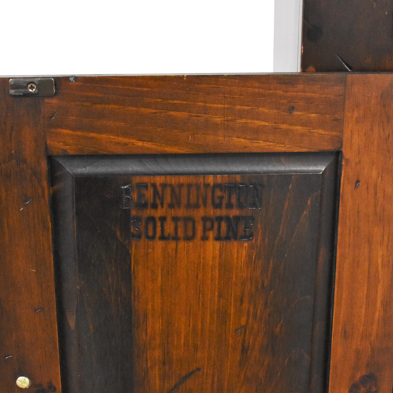 Bennington Pine Bennington Pine Bookcase with Cabinet coupon