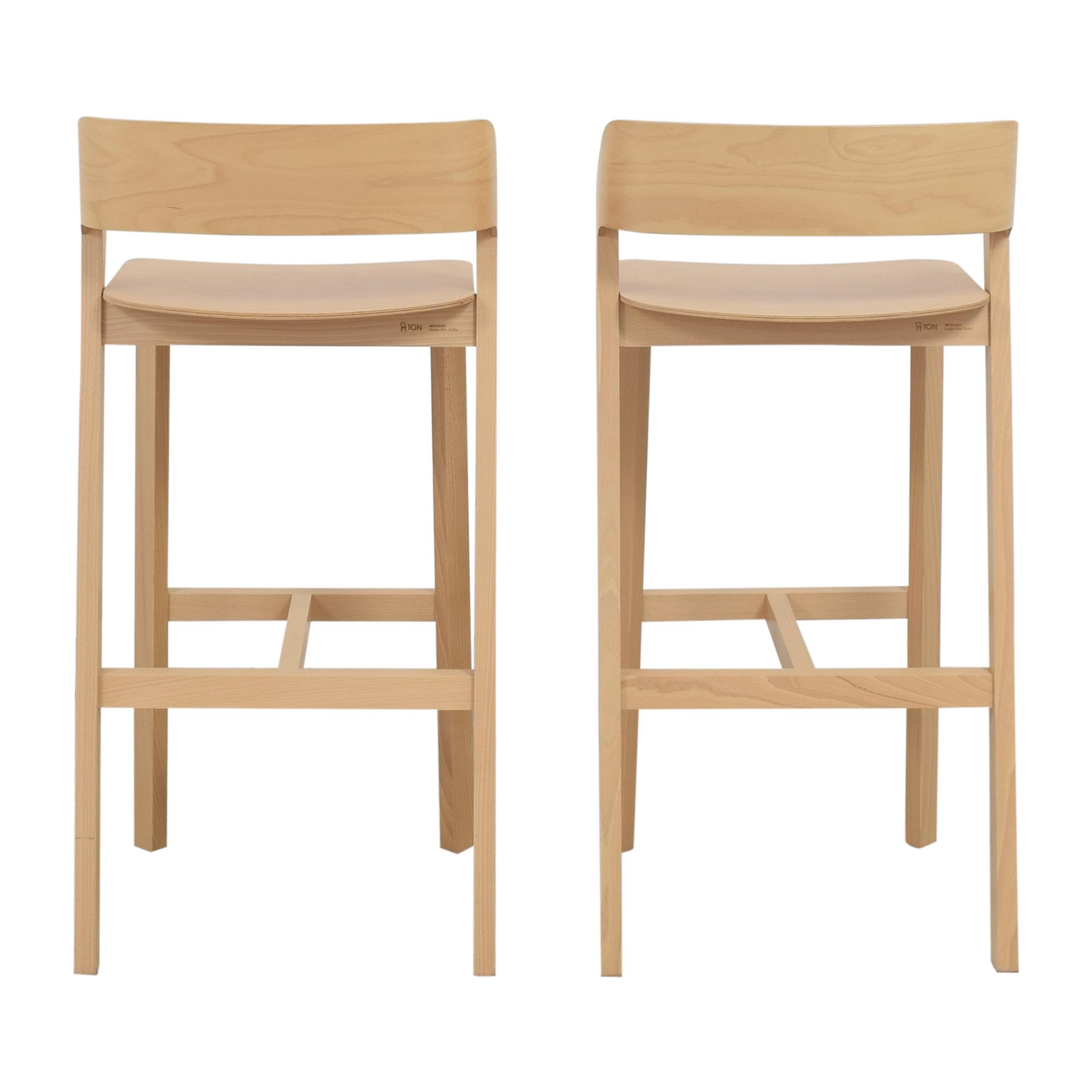 shop Design Within Reach Ton Merano Bar Stools Design Within Reach Chairs