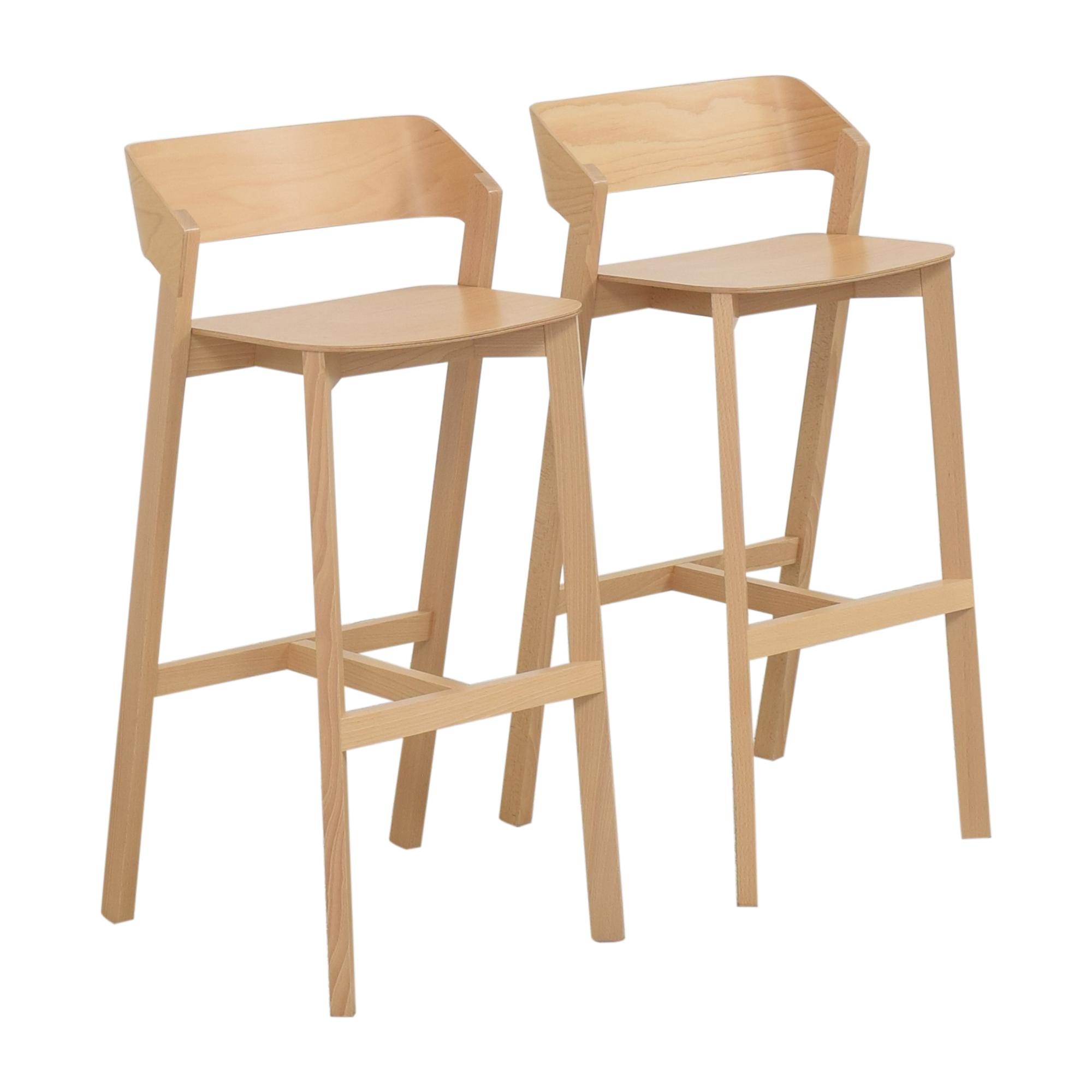 shop Design Within Reach Ton Merano Bar Stools Design Within Reach