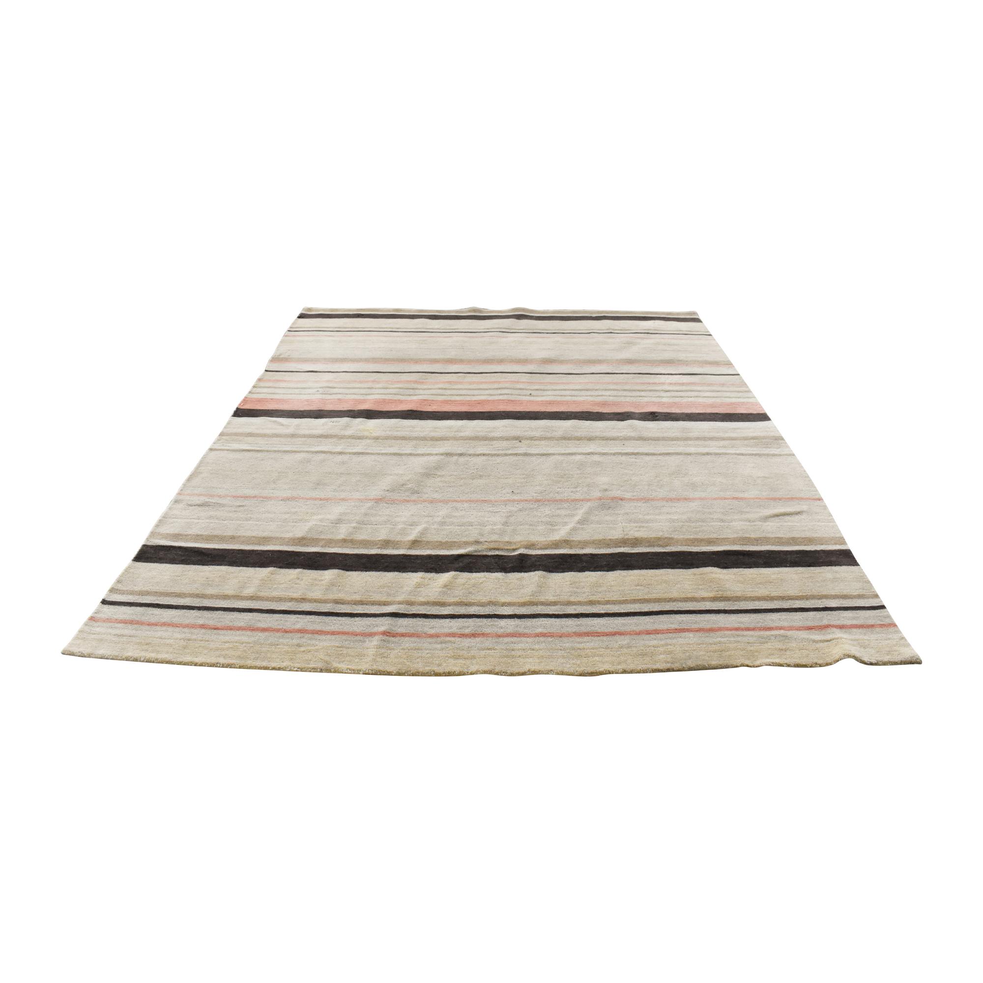 Striped Area Rug ma