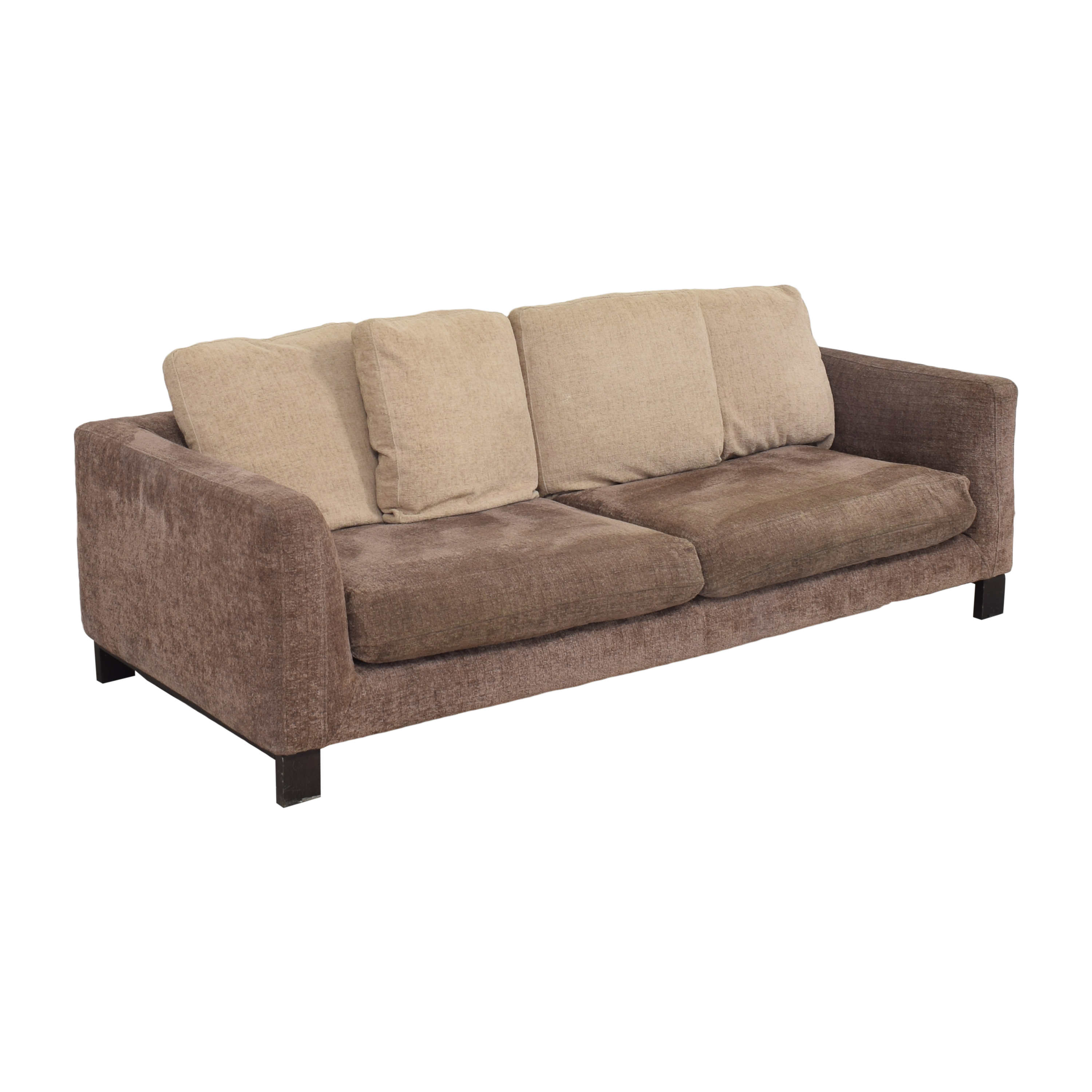 buy Maurice Villency Two Tone Sofa Maurice Villency Classic Sofas