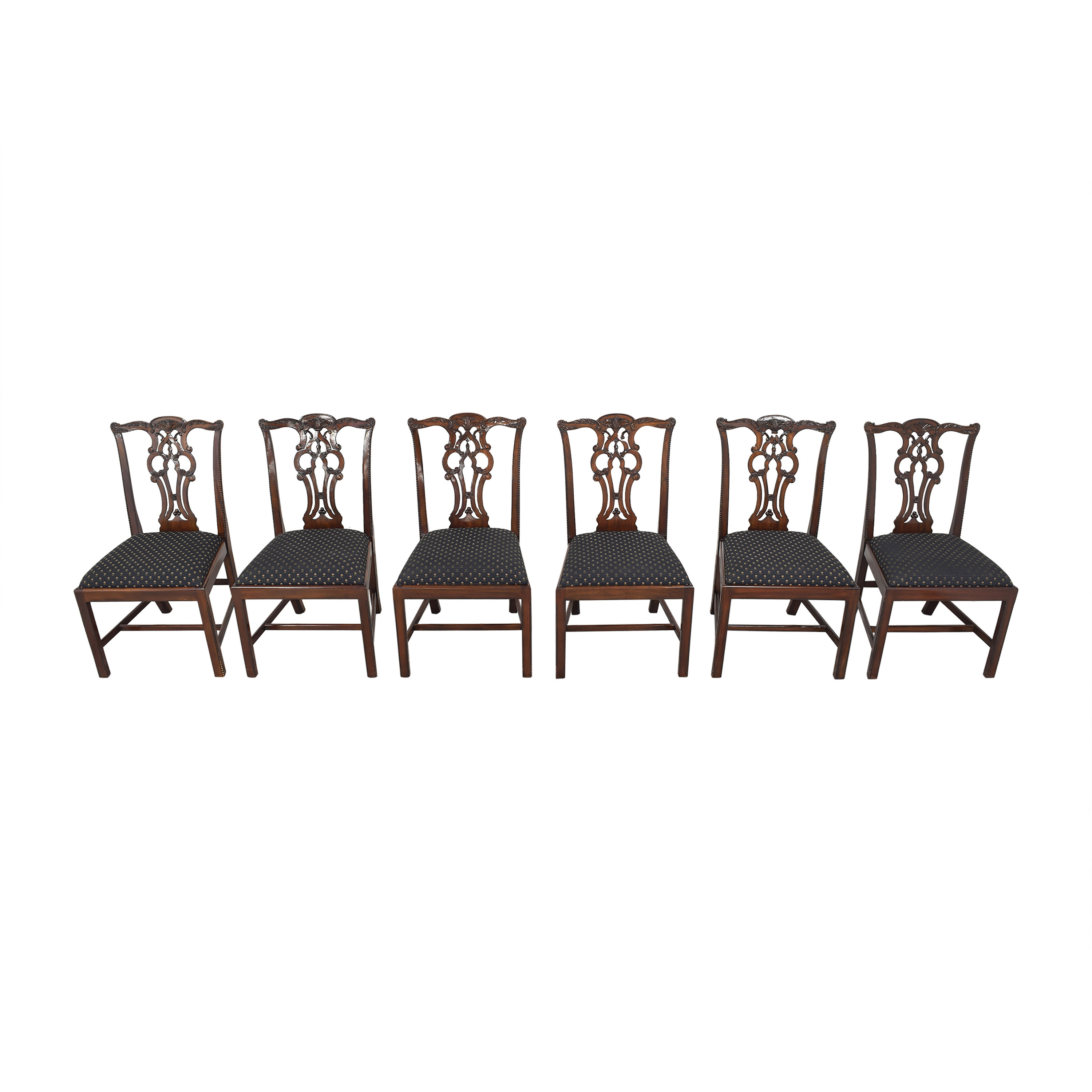 Maitland-Smith Maitland-Smith Chippendale Dining Chairs price