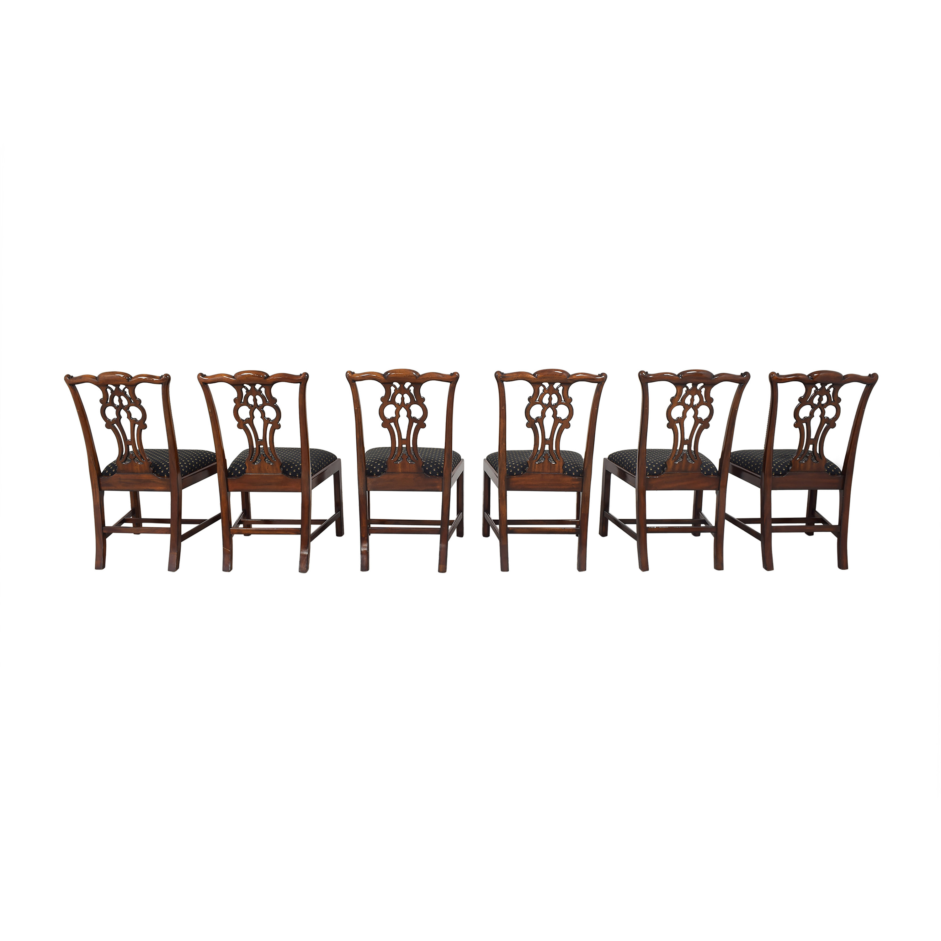 Maitland-Smith Maitland-Smith Chippendale Dining Chairs ct