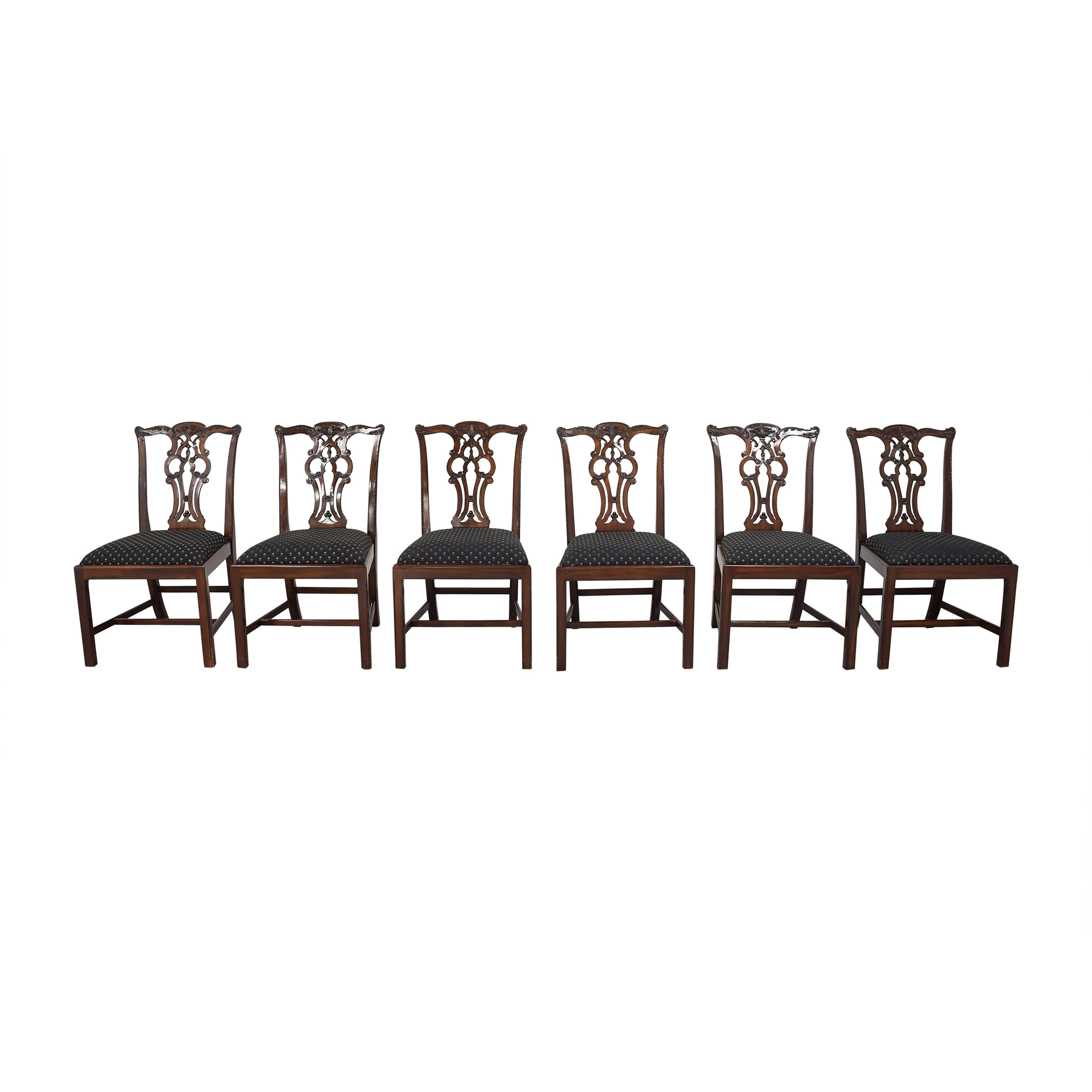 buy Maitland-Smith Chippendale Dining Chairs Maitland-Smith Dining Chairs
