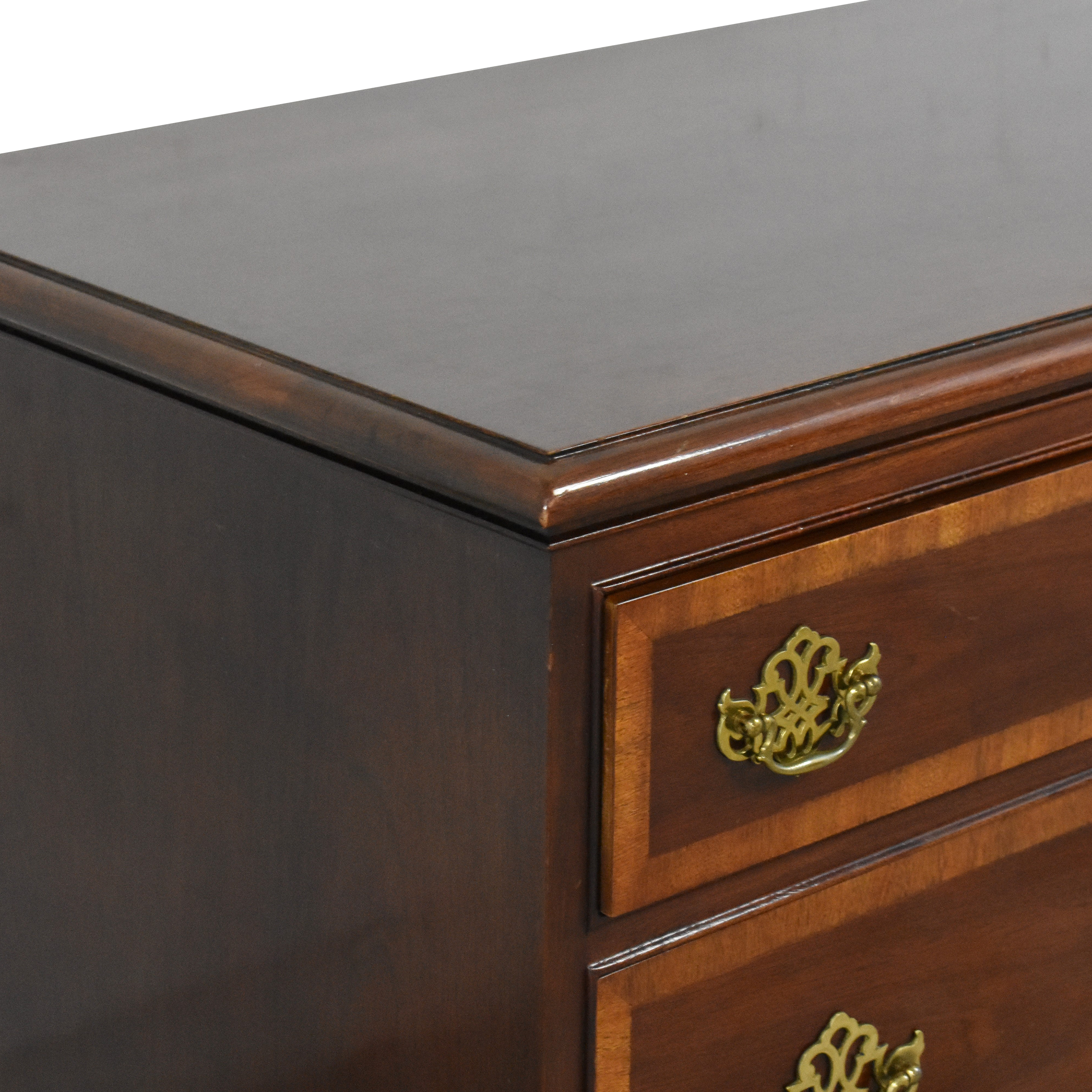 Hickory Chair Hickory Chair American Masterpiece Collection Wide Dresser brown