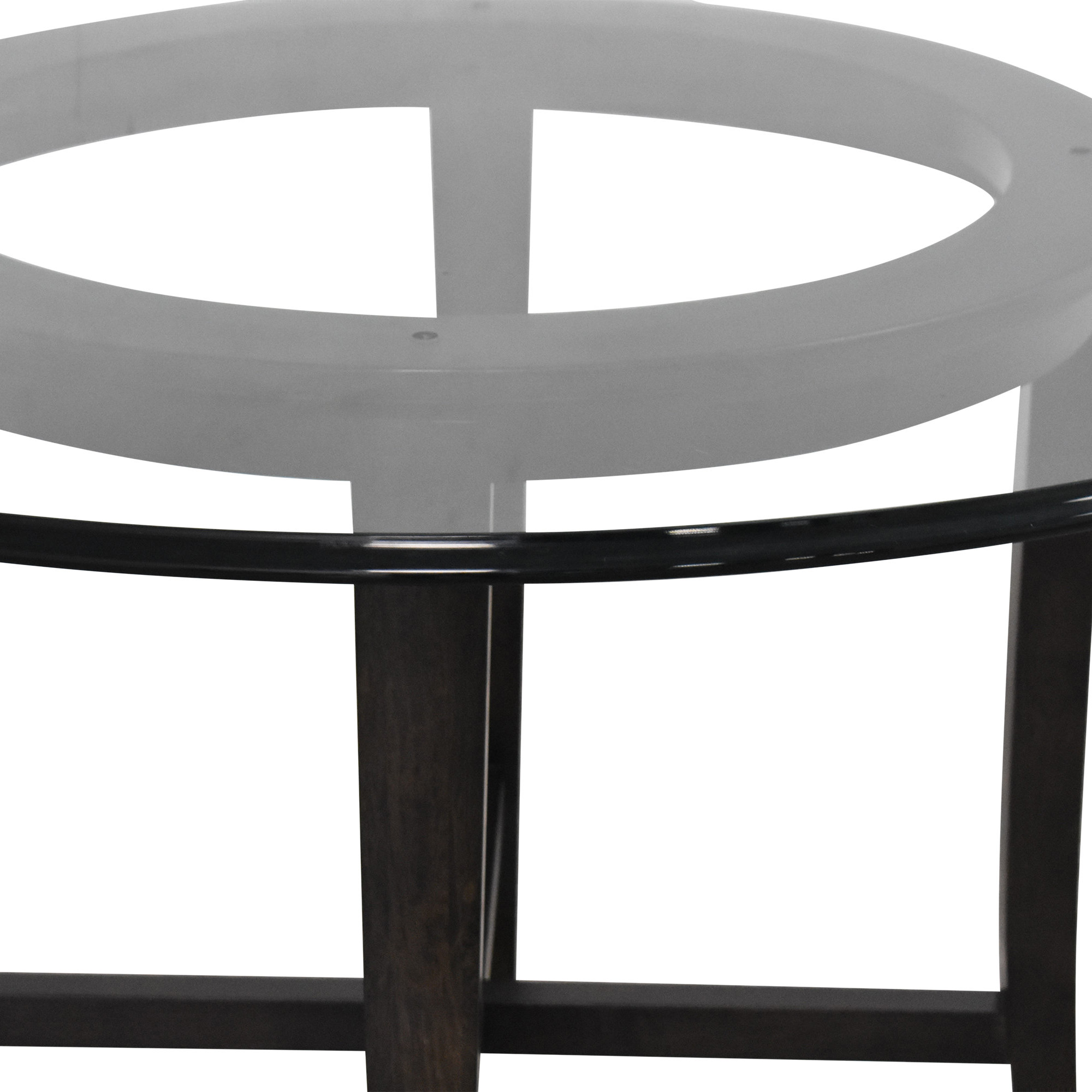Crate & Barrel Crate & Barrel Halo Round Dining Table ct