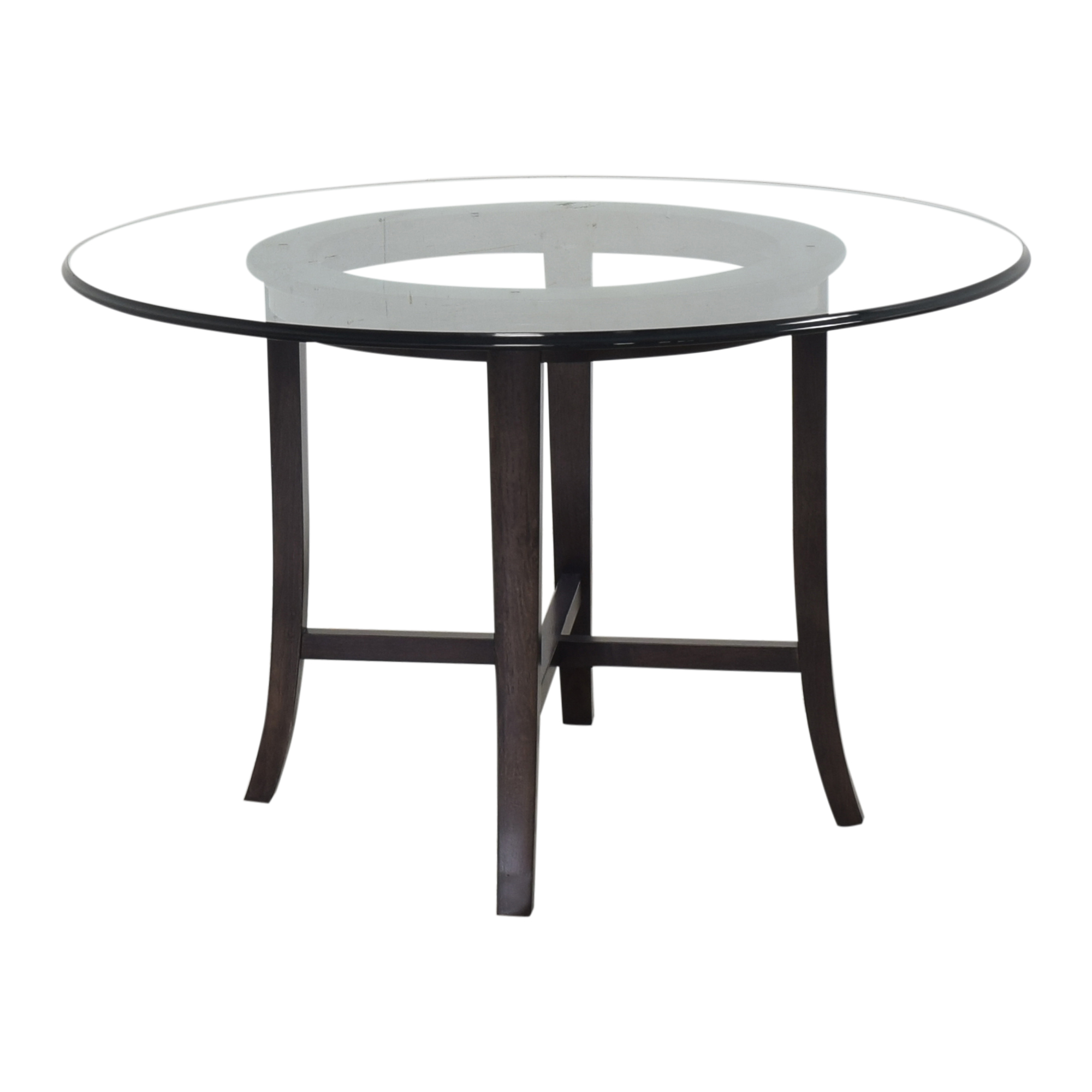 Crate & Barrel Crate & Barrel Halo Round Dining Table discount