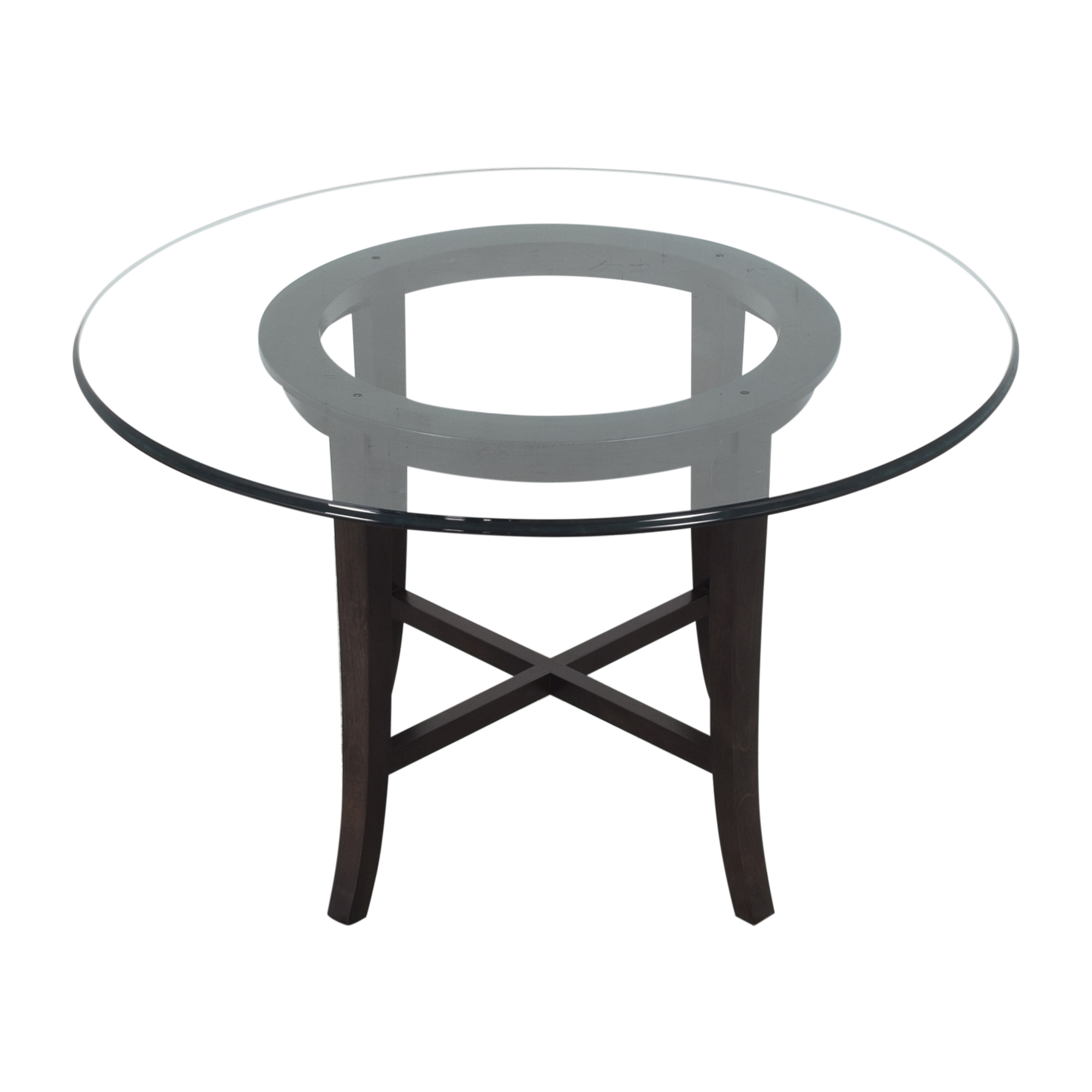 shop Crate & Barrel Crate & Barrel Halo Round Dining Table online
