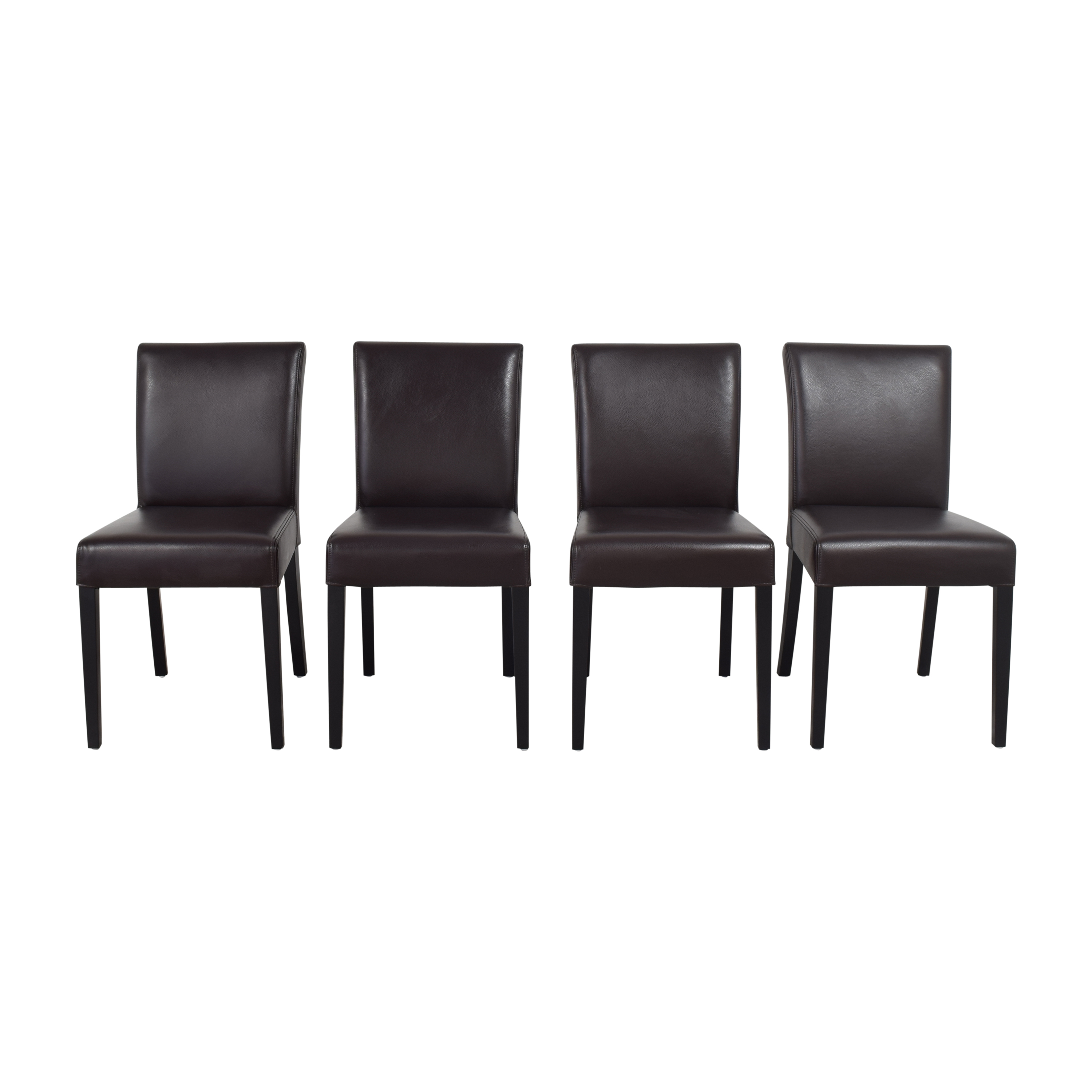 Crate & Barrel Crate & Barrel Lowe Dining Chairs discount