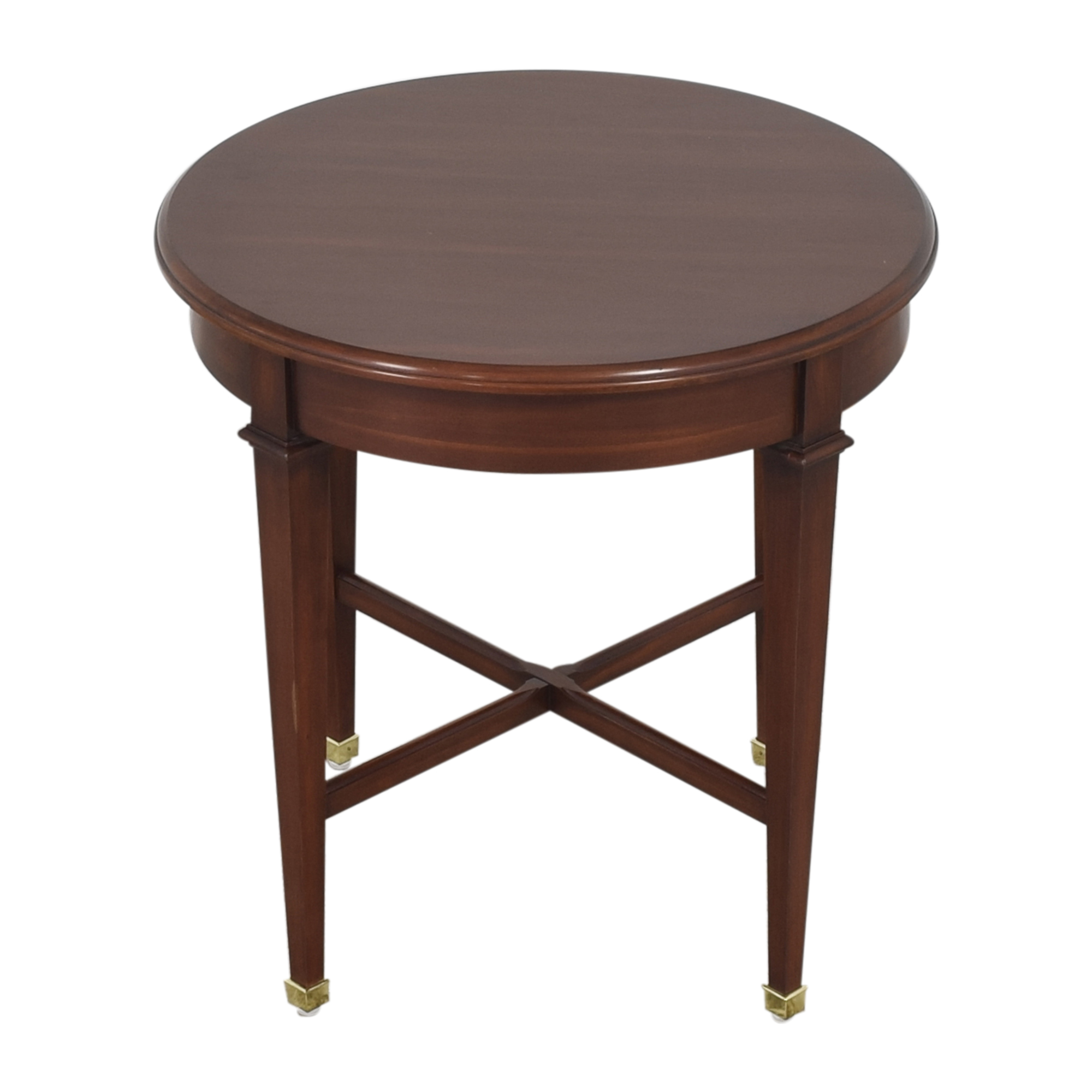 Harden Harden Round End Table pa