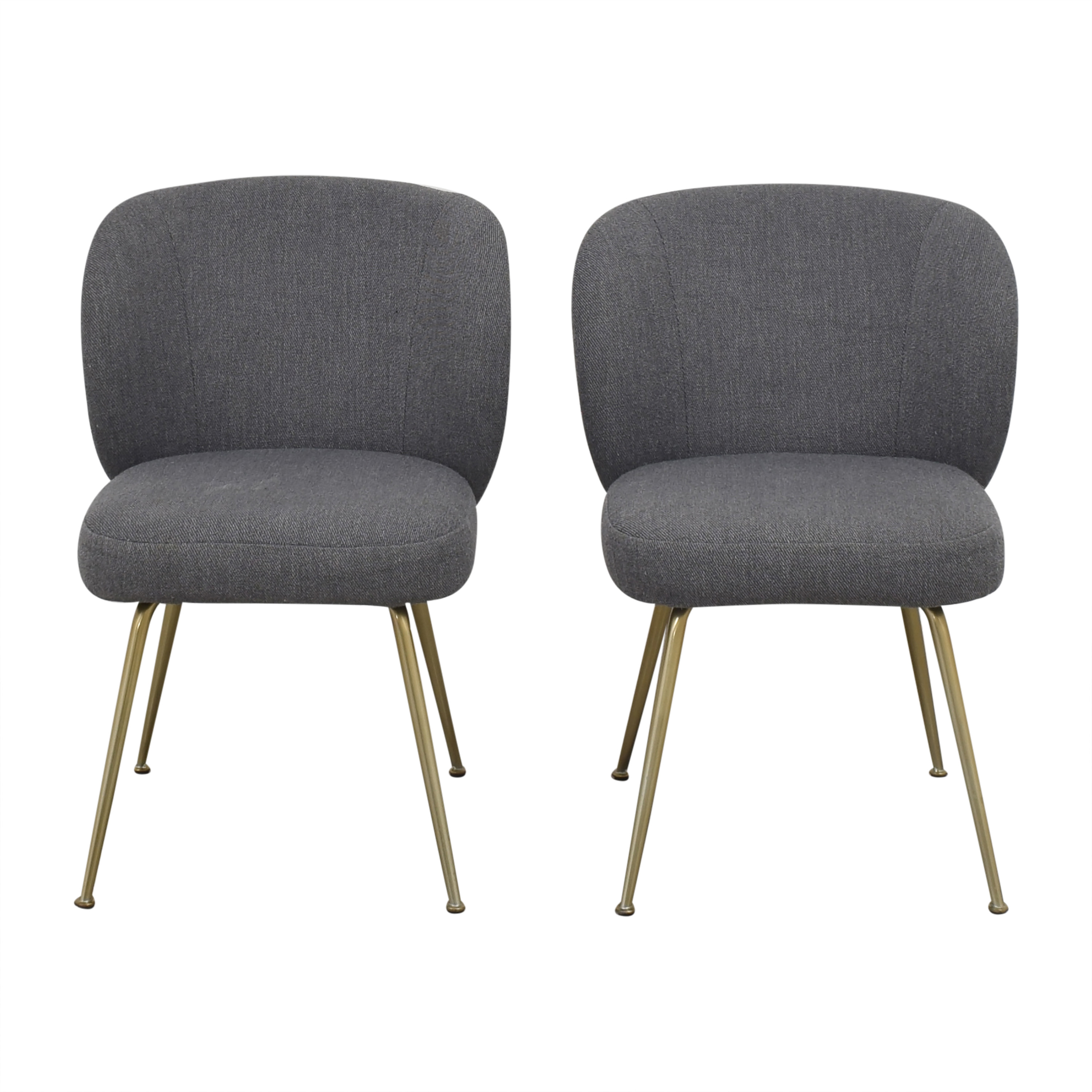 West Elm Greer Upholstered Dining Chairs / Chairs