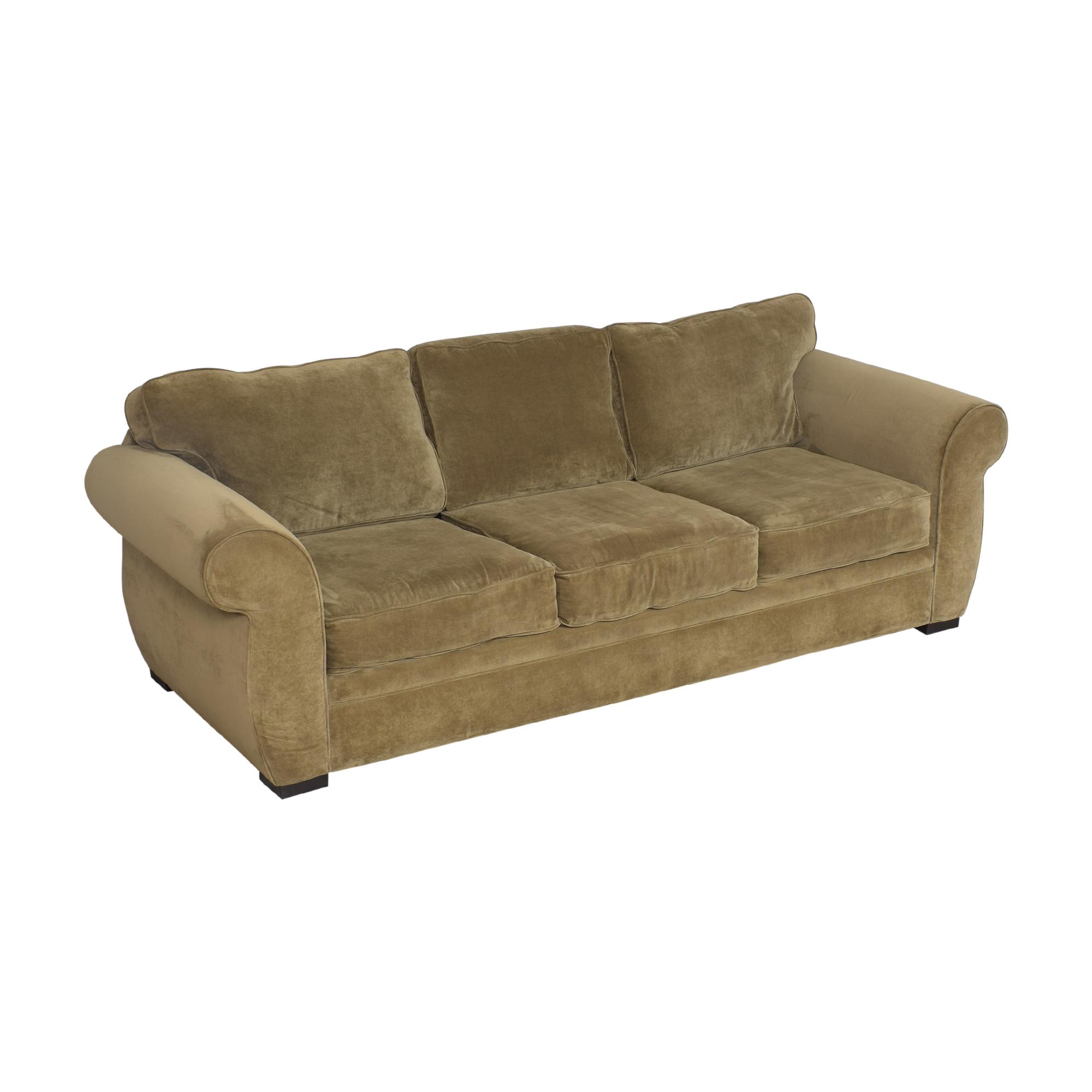Macy's Macy's Three Cushion Sofa