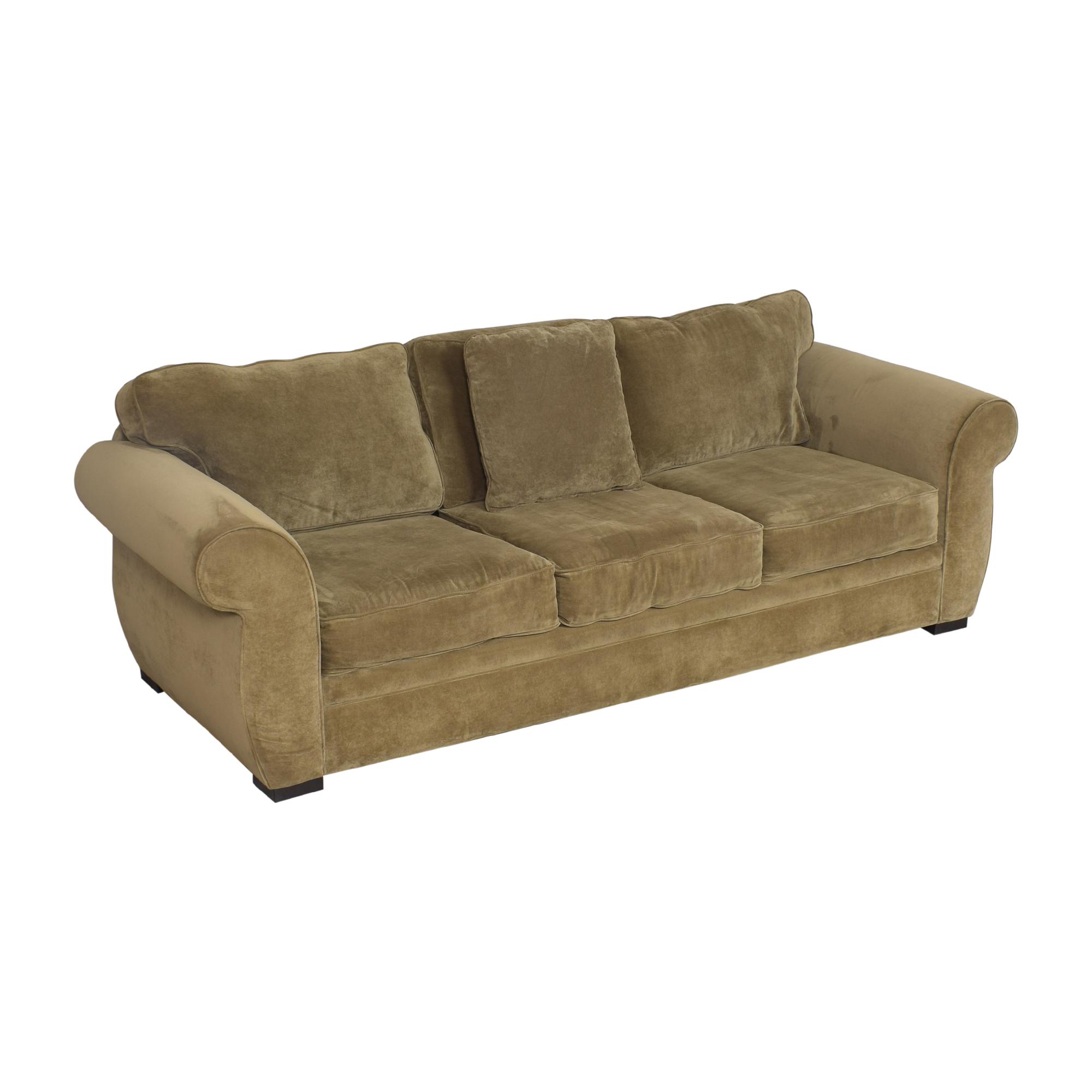 shop Macy's Three Cushion Sofa Macy's