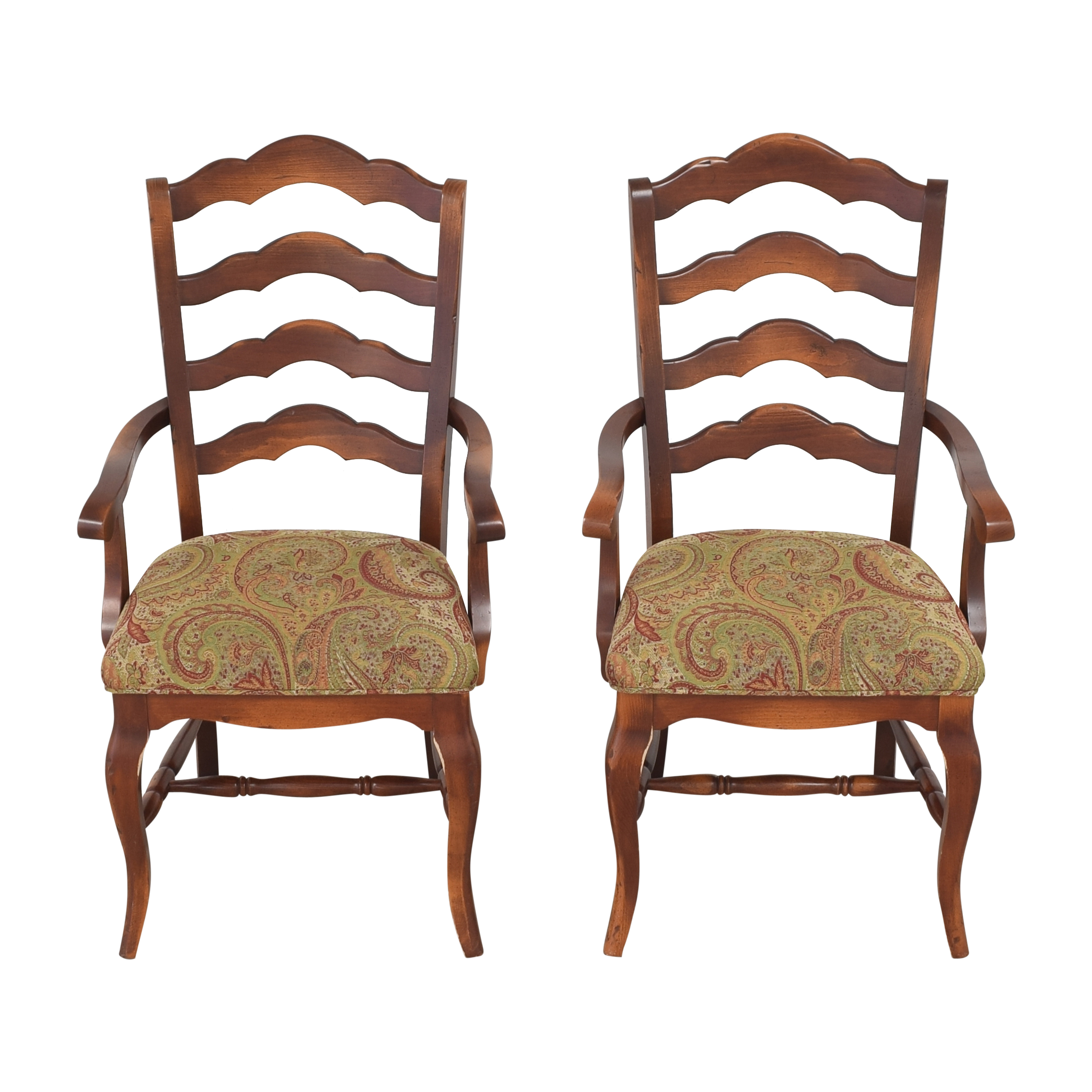 buy Saloom Saloom Model 35 Upholstered Dining Arm Chairs online
