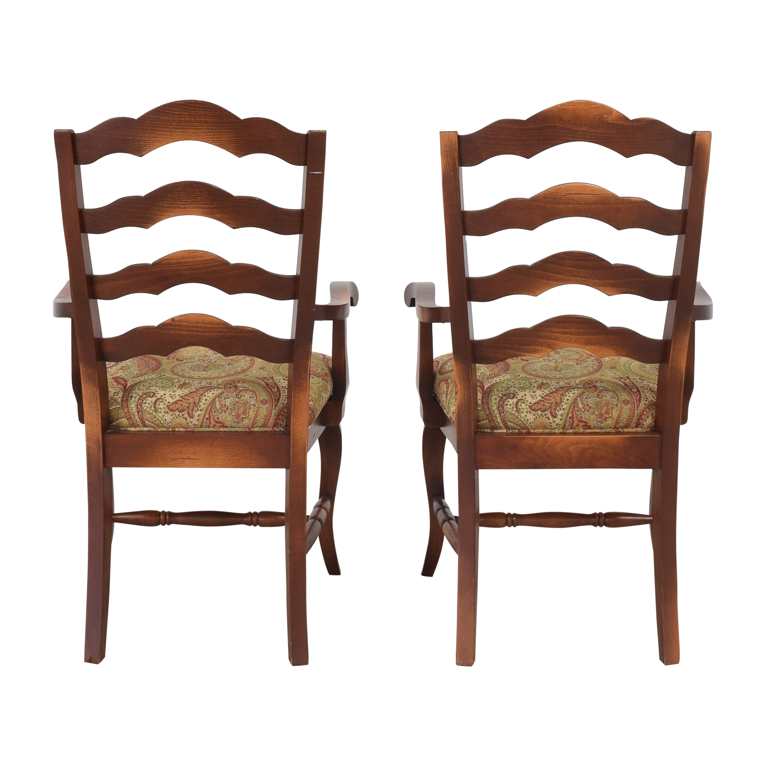 Saloom Saloom Model 35 Upholstered Dining Arm Chairs