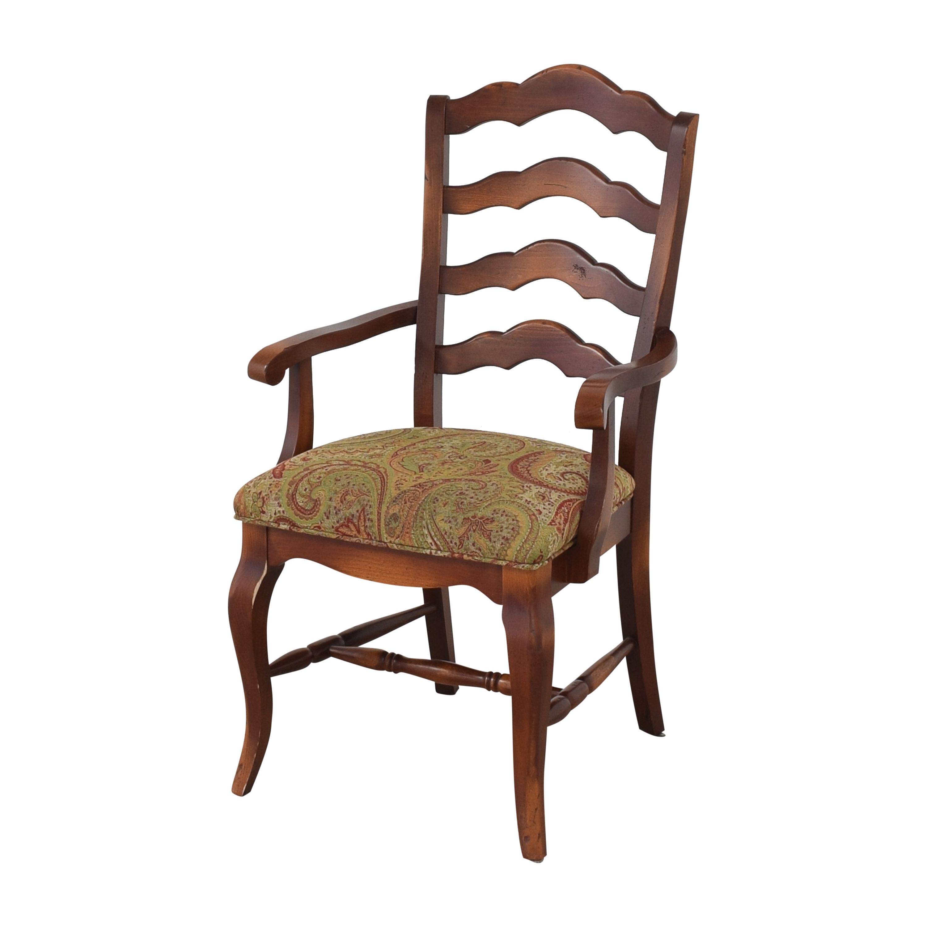 Saloom Saloom Model 35 Upholstered Dining Arm Chairs Dining Chairs