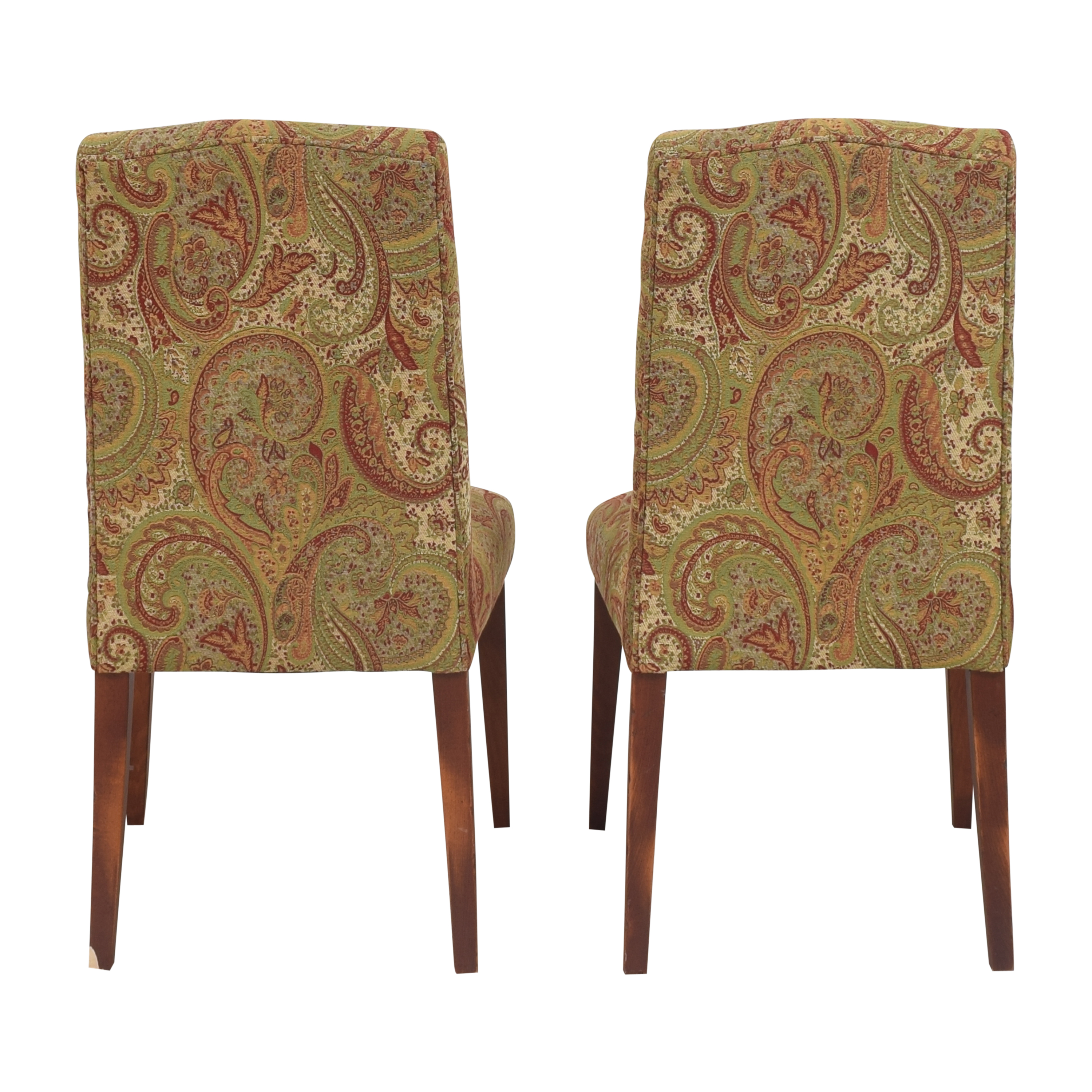 Saloom Saloom Model 61 Upholstered Dining Side Chairs Dining Chairs