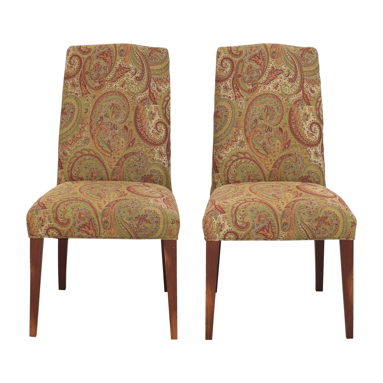 Saloom Saloom Model 61 Upholstered Dining Side Chairs nj