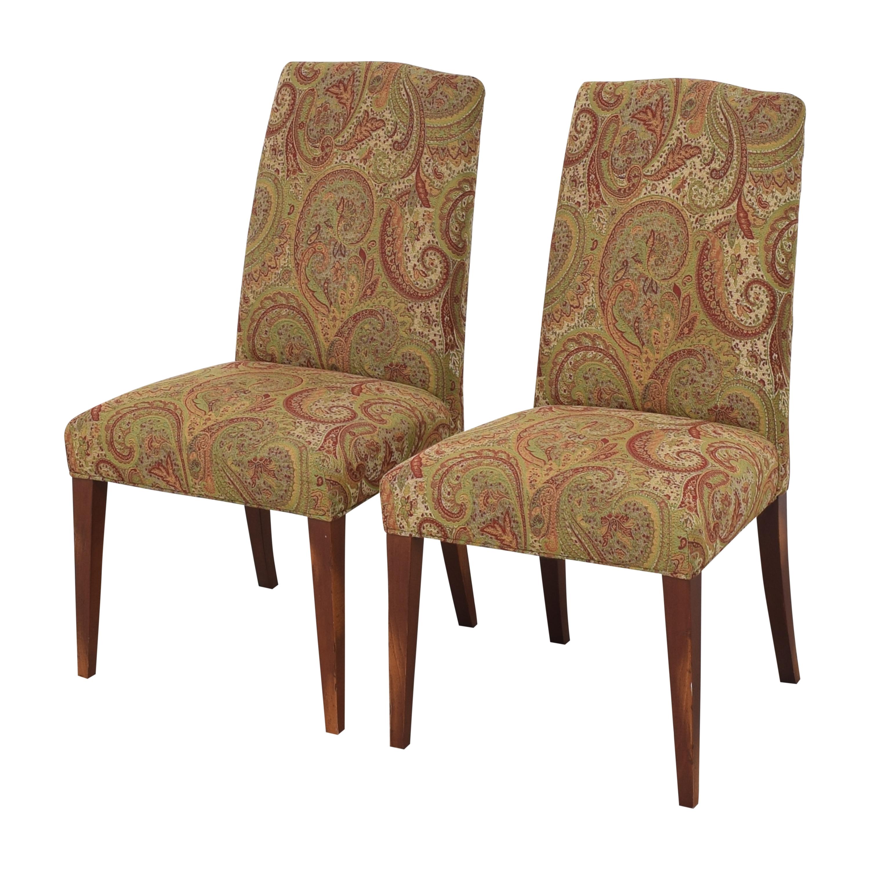 shop Saloom Model 61 Upholstered Dining Side Chairs Saloom