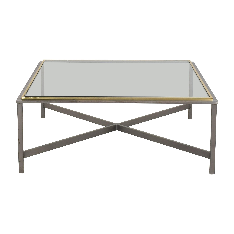 Bloomingdale's Bloomingdale's Transparent Coffee Table dimensions