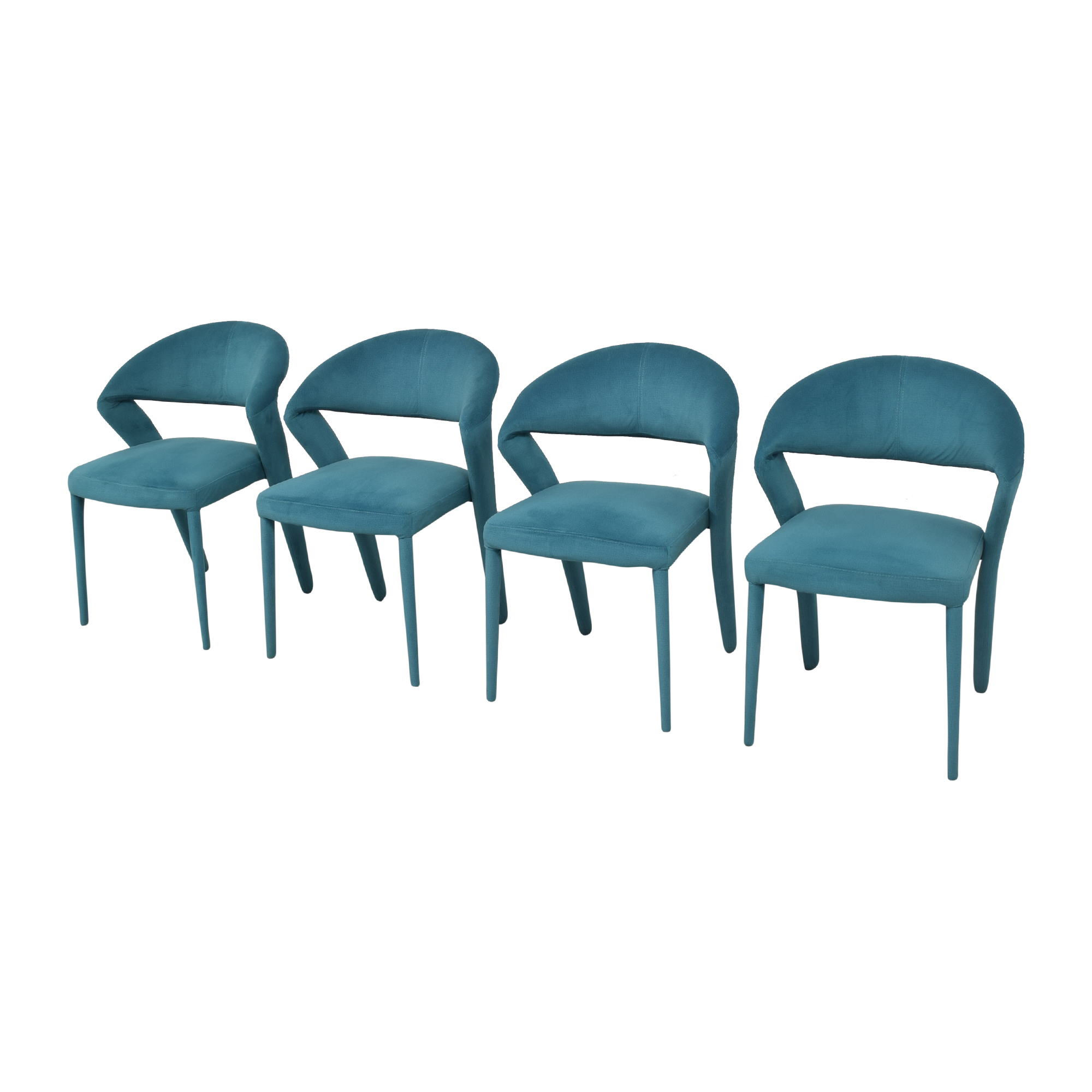 Moe's Home Collection Moe's Home Collection Lennox Dining Chairs blue