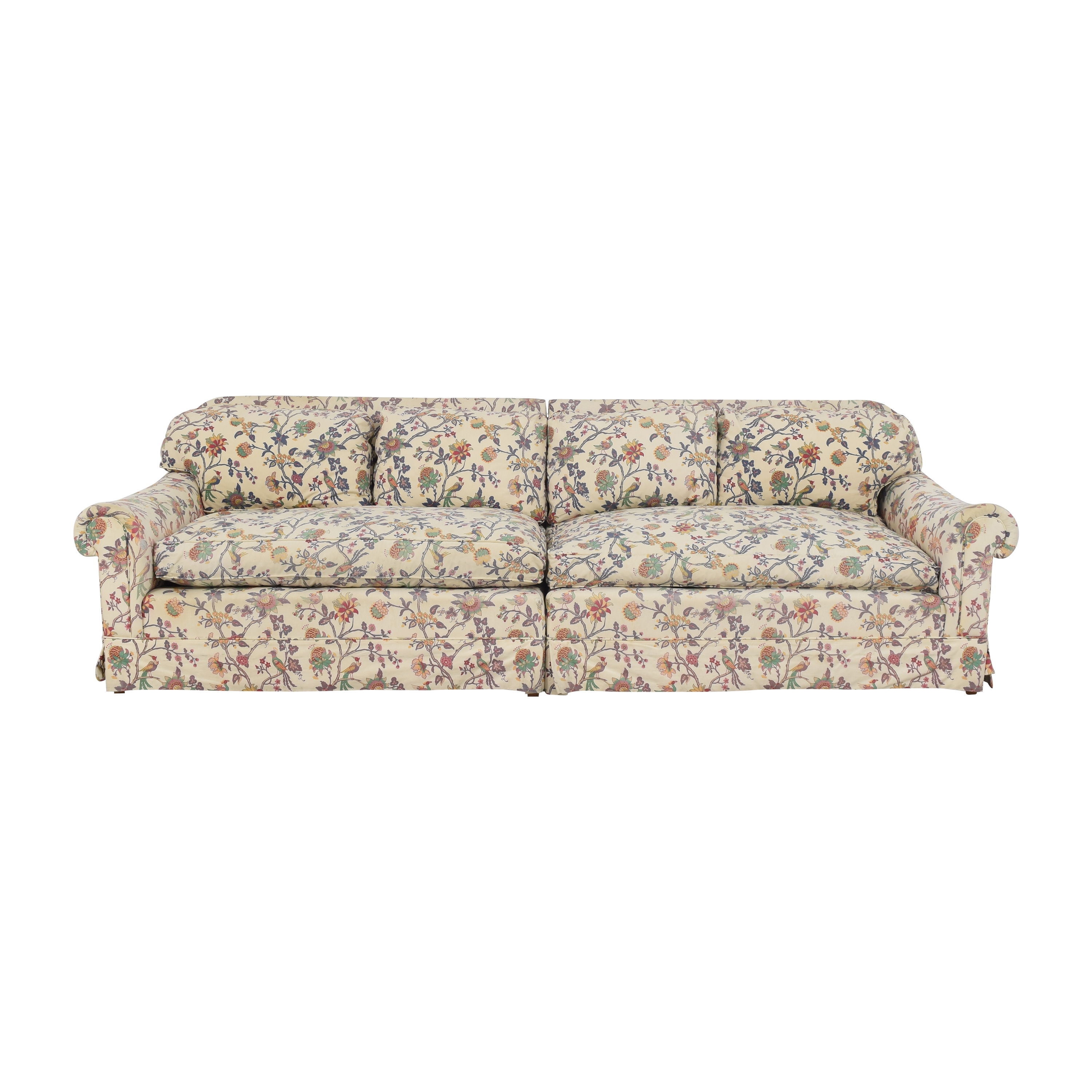 Floral Sectional Sofa Classic Sofas