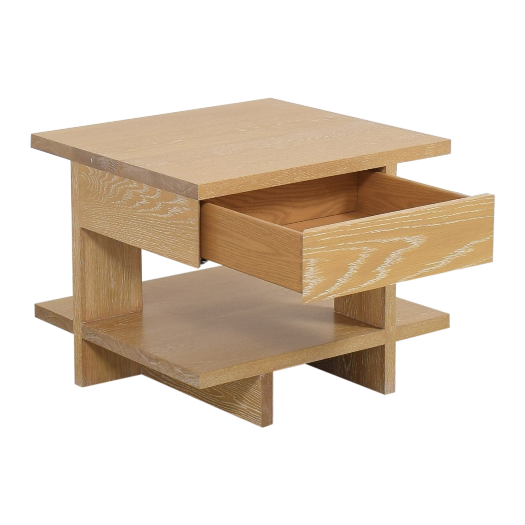 Geometric End Table Tables